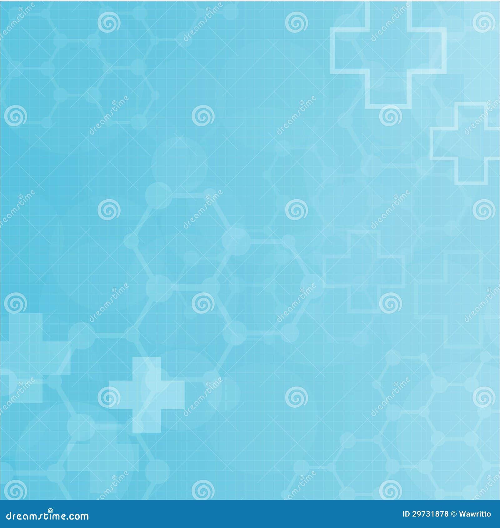 Abstrakcjonistycznych molekuł medyczny tło