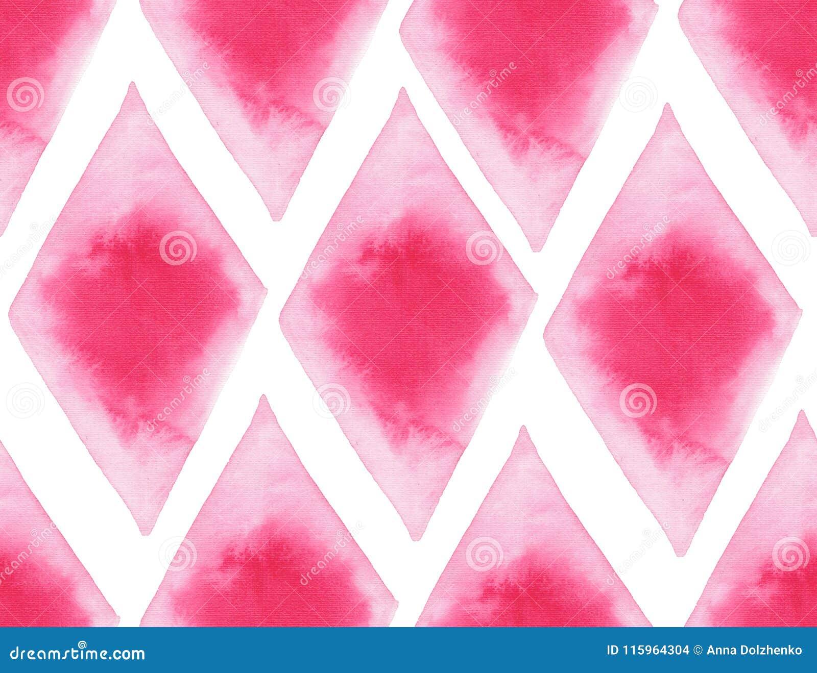 Abstrakcjonistycznych pięknych artystycznych czułych cudownych przejrzystych jaskrawych czerwieni menchii różnych kształtów akwar