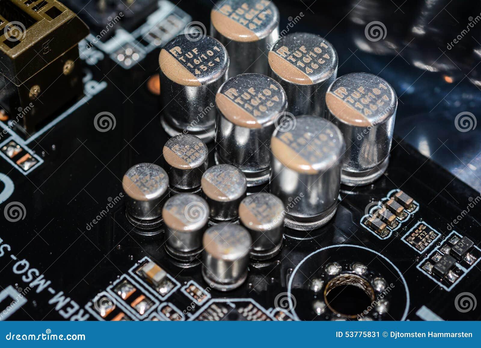 Abstrakcjonistycznych tła części komputerowych sepiowy ton