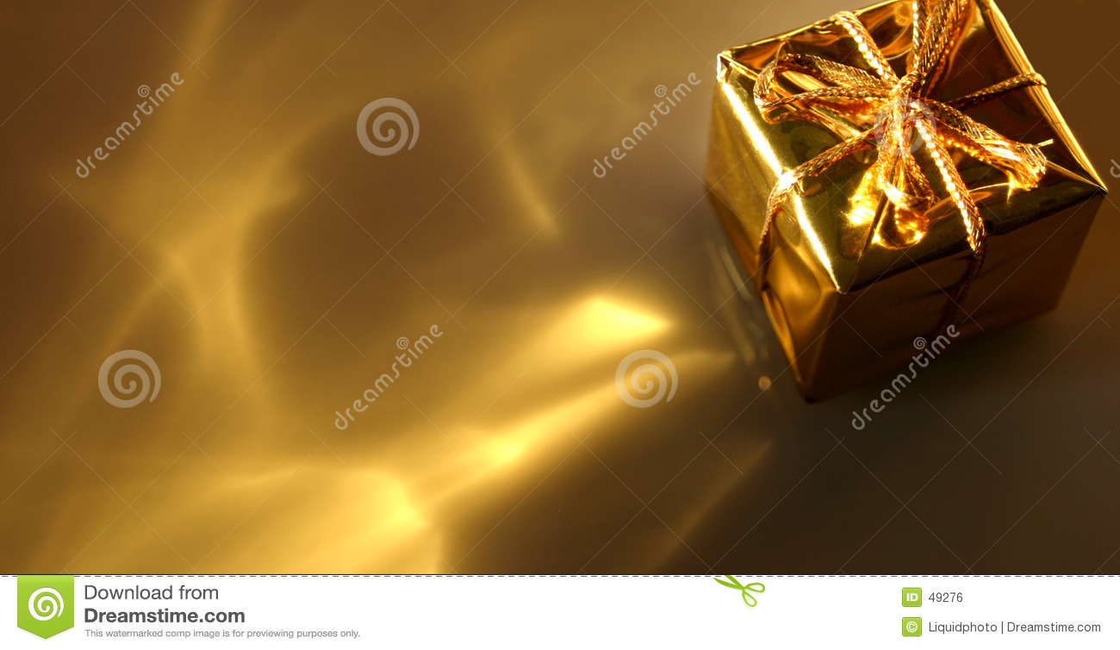 Abstrakcyjny prezent złota
