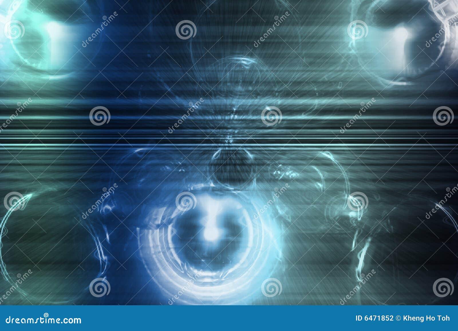 Abstraktów niebieskich tylnych twórcze modny brzmień tapeta