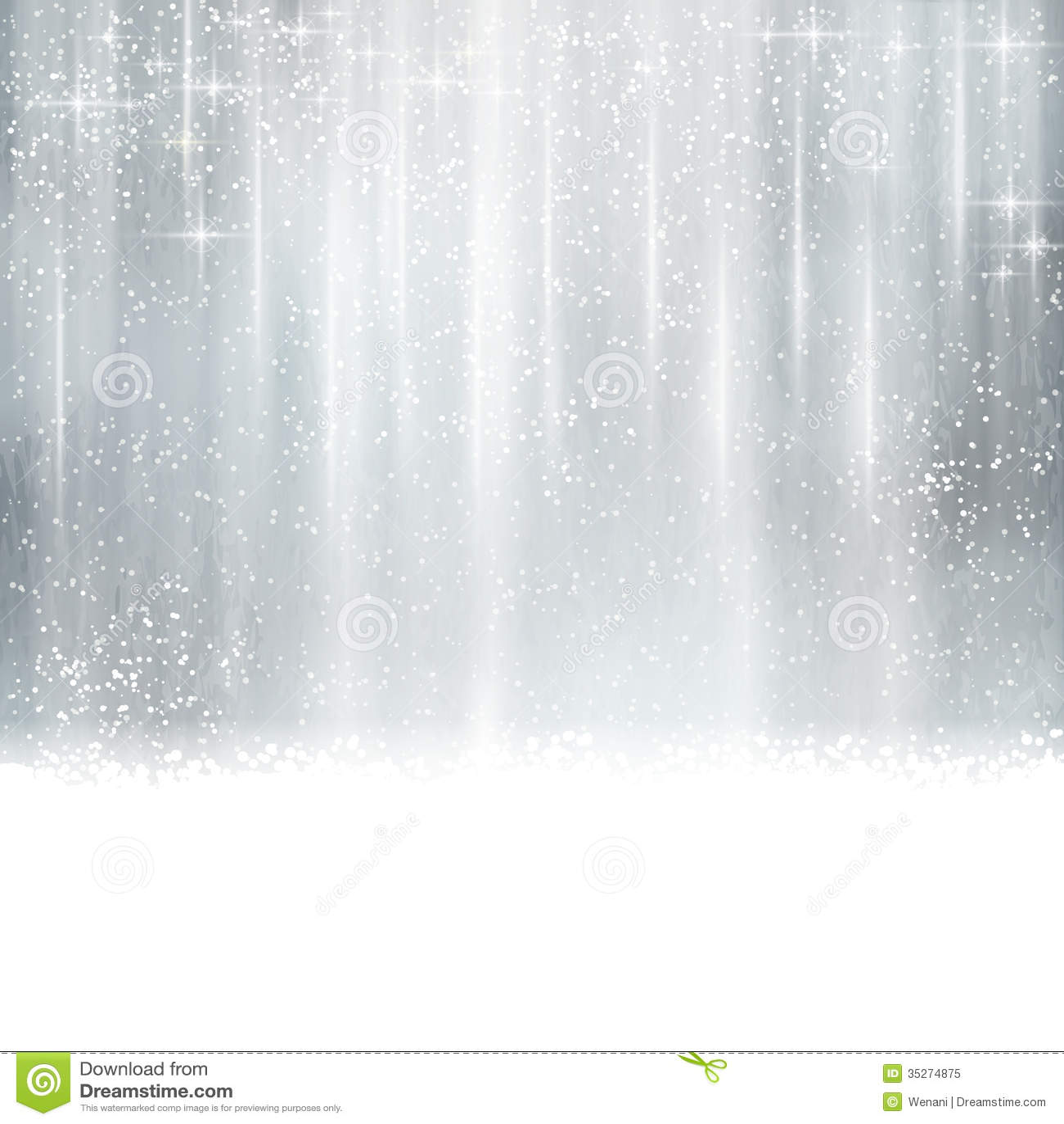 Abstraktów srebni boże narodzenia, zimy tło