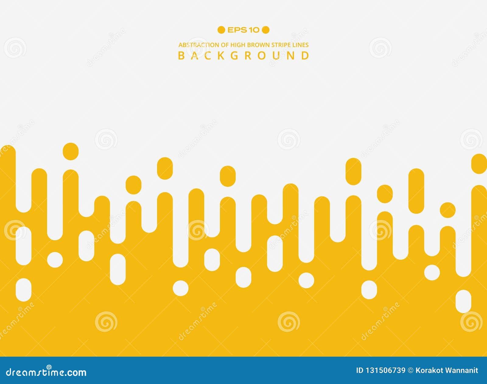 Abstrakt świeże żółte koloru lampasa linie deseniuje tło