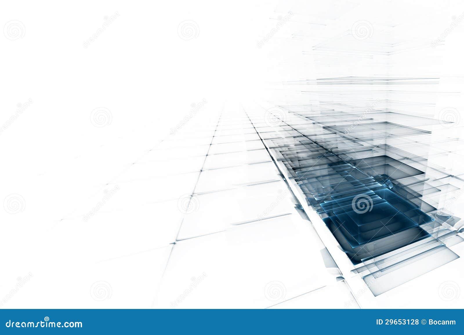 Abstrakt affärsvetenskap eller teknologibakgrund
