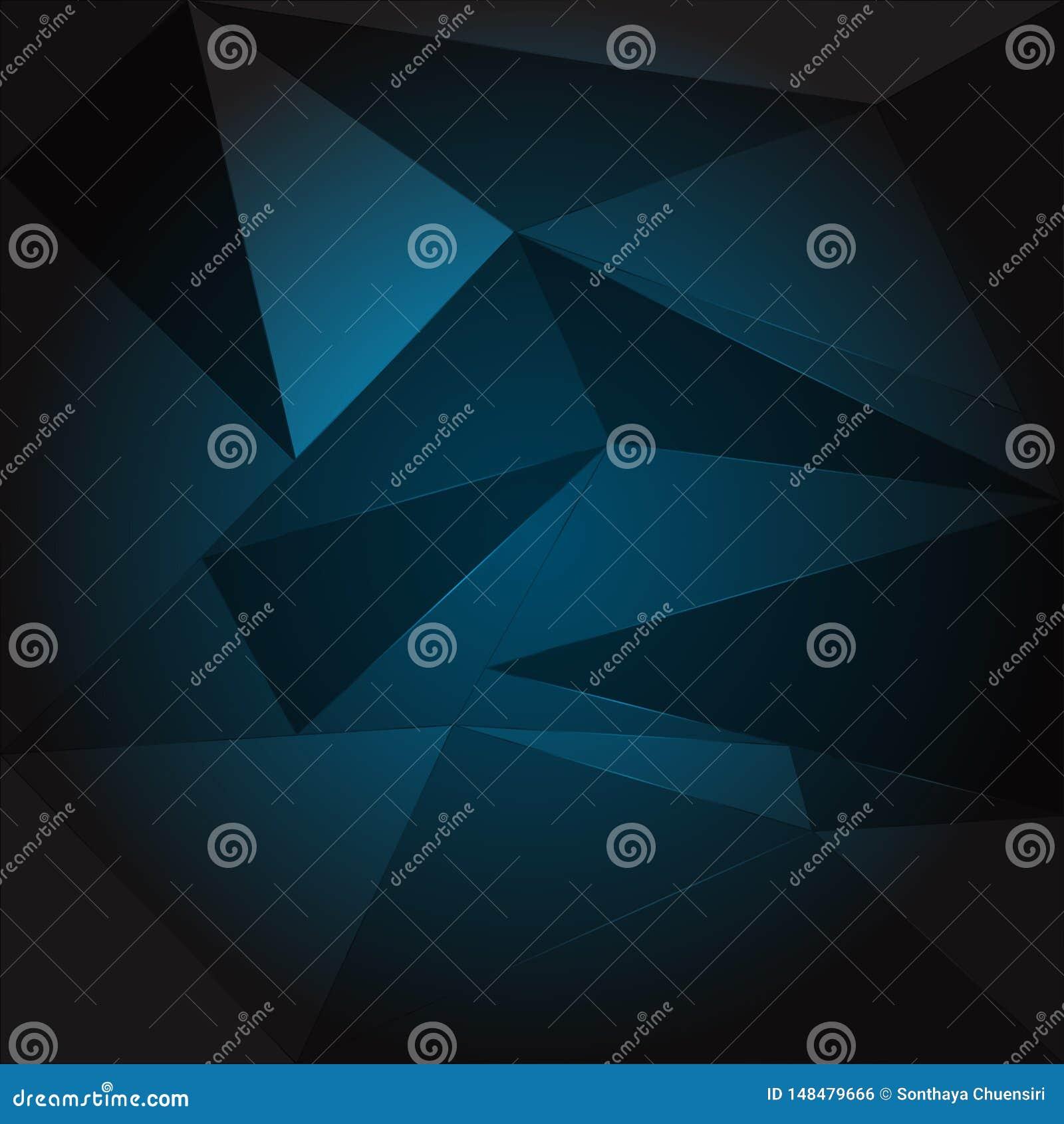 Abstrakt bakgrund av polygonvektorillustrationer