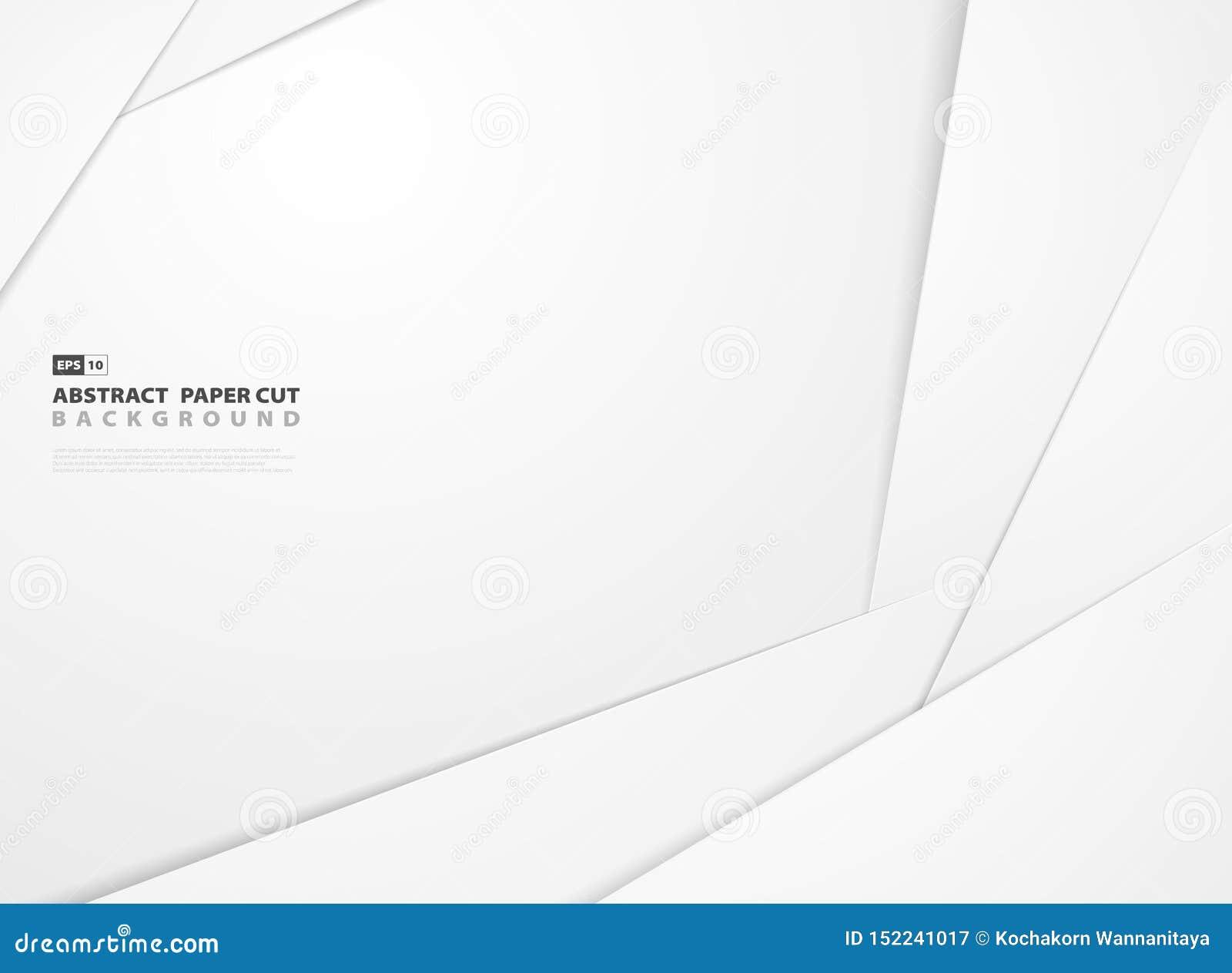 Abstrakt bakgrund för design för modell för form för lutningvitboksnitt