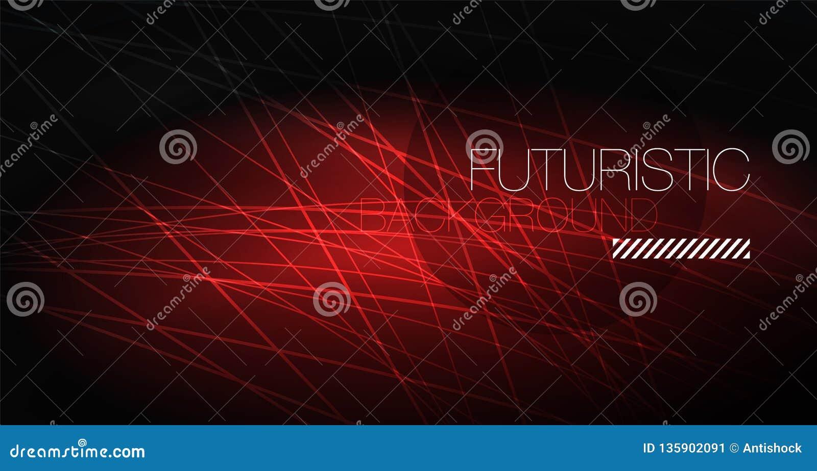 Abstrakt bakgrund för Digital teknologi - geometrisk design för neon abstrakt glödande linjer färgrik techno för bakgrund