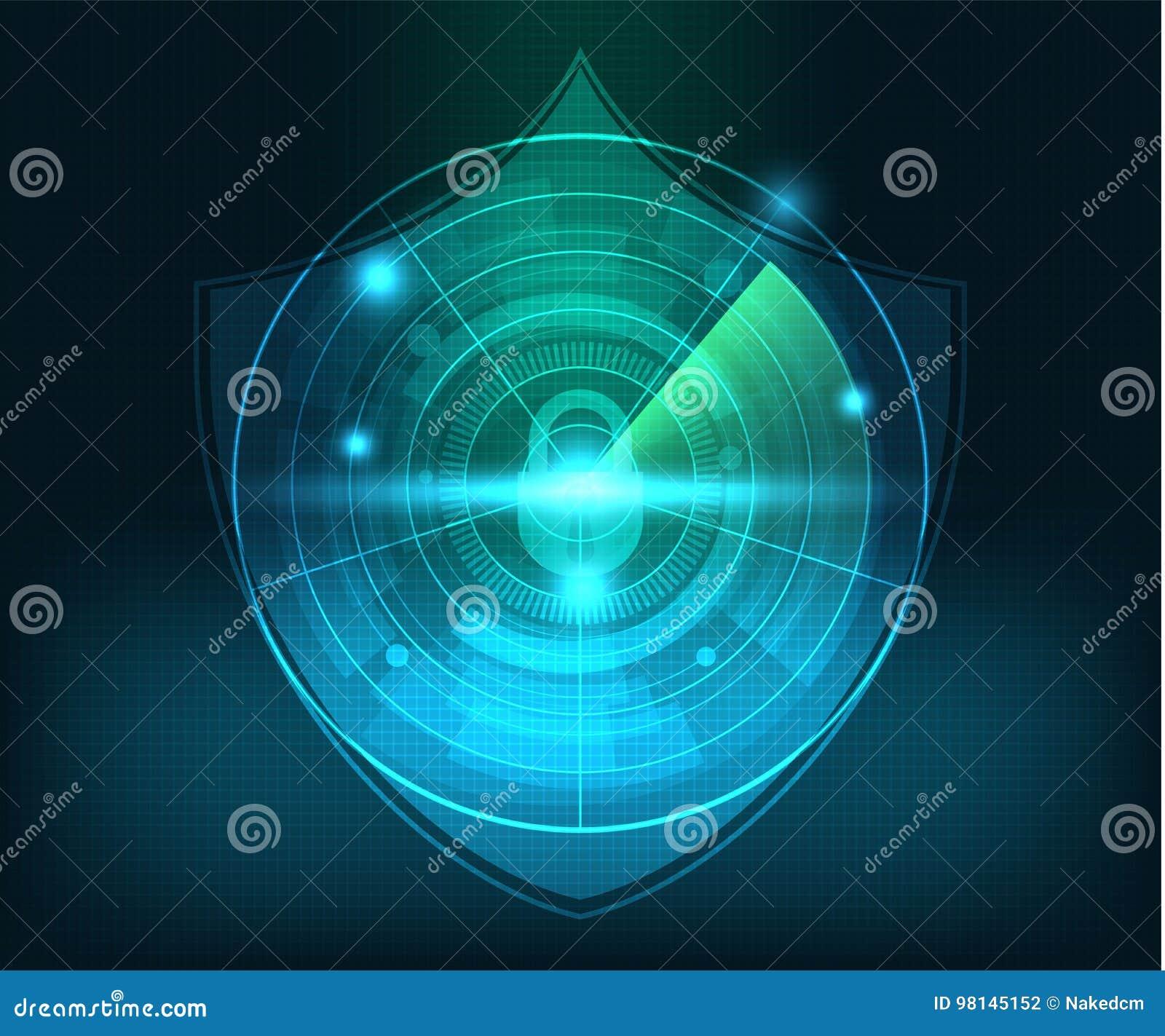 Abstrakt bakgrund för teknologinätverkssäkerhet