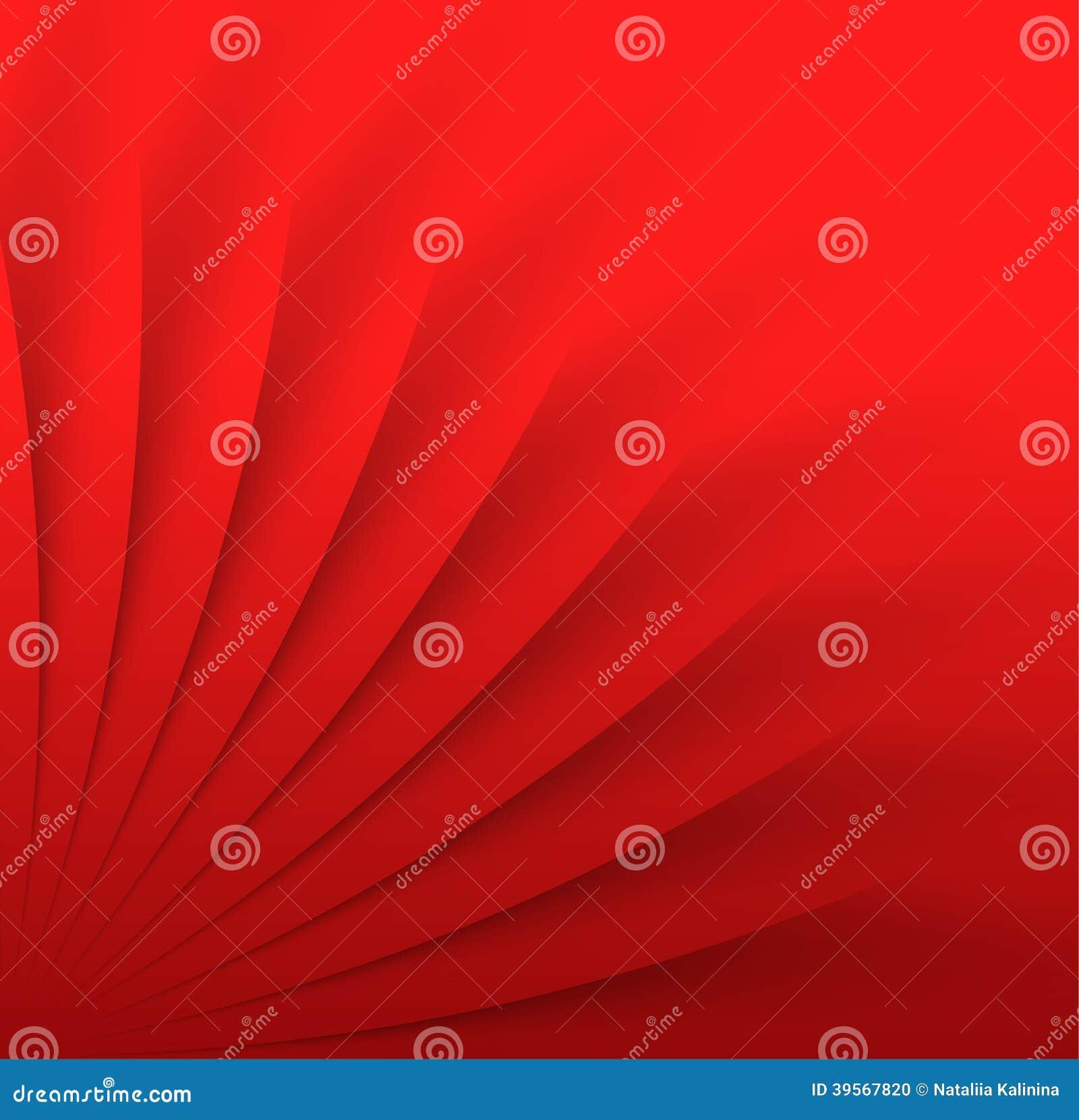 Abstrakt bakgrund i röd färg