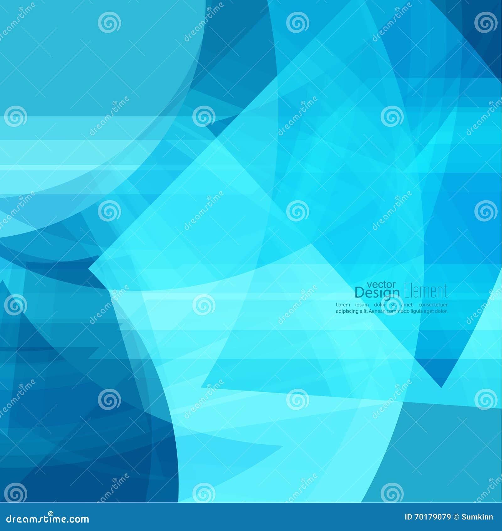 Abstrakt bakgrund med blåa band