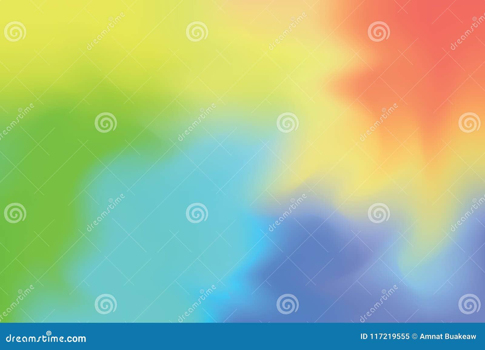 Abstrakt begrepp för pastell för konst för målning för bakgrund för mjuk färg för blått för apelsingräsplanguling blandat, färgri