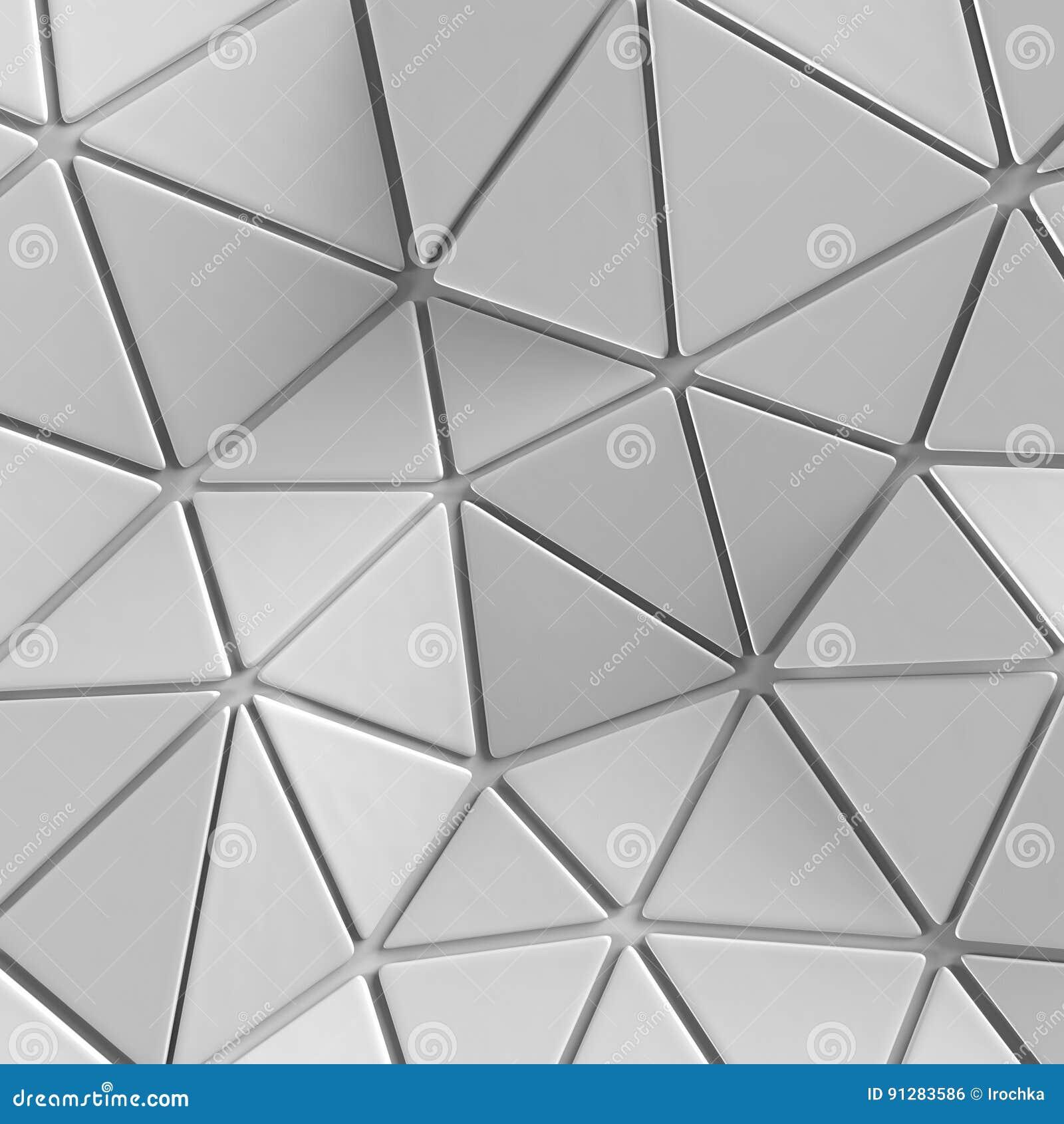 Abstrakt begrepp Geometrisk triangelbakgrund