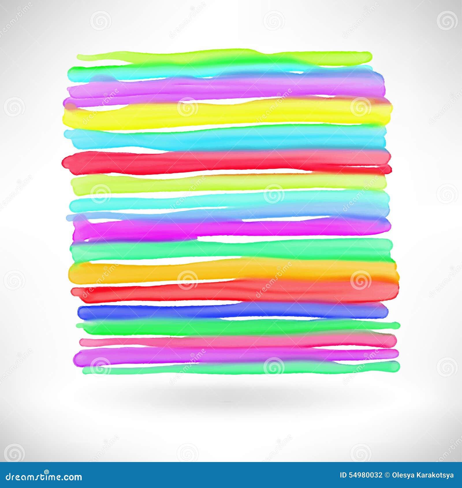 Abstrakt beståndsdel för vattenfärgfärgstänkdesign
