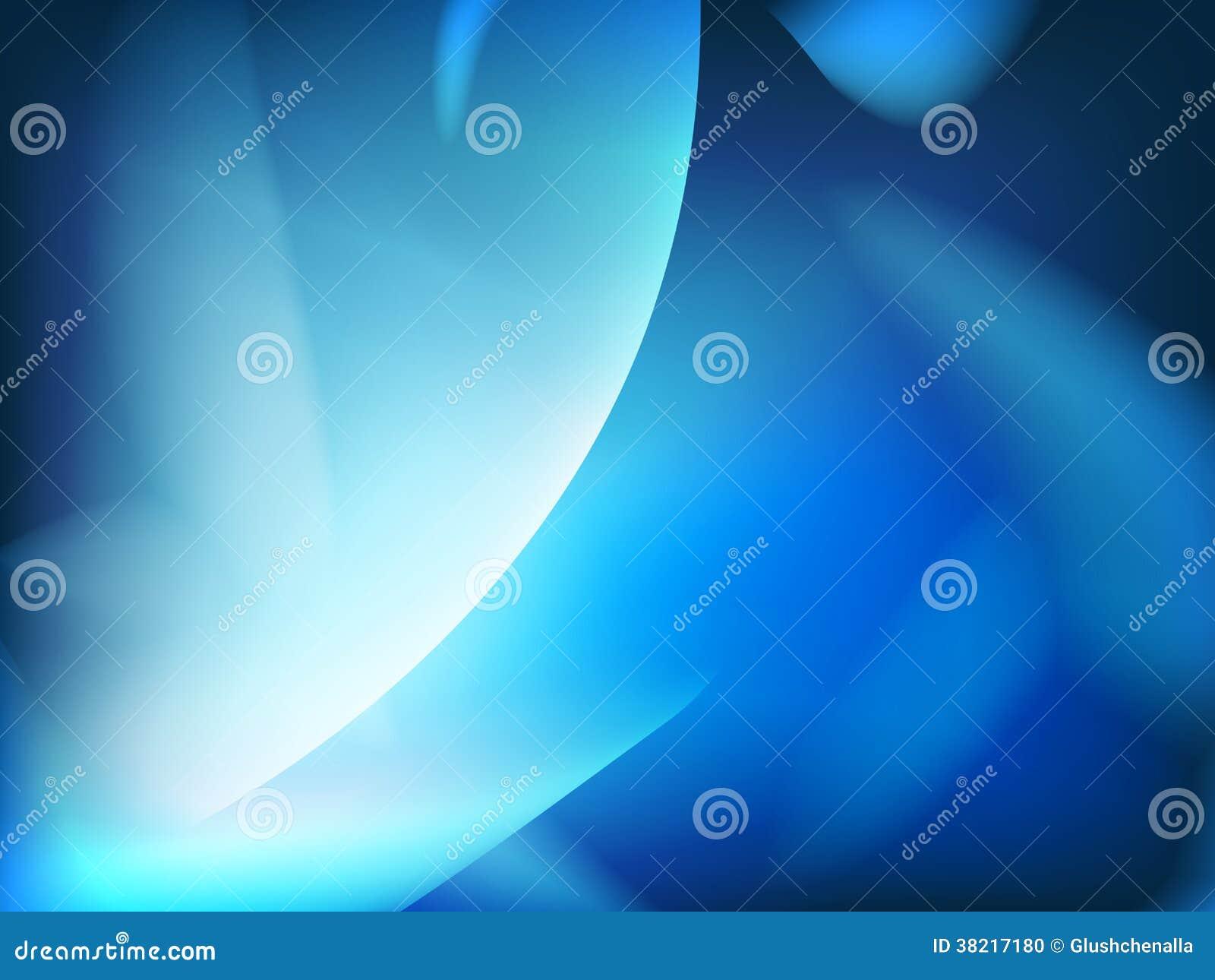Abstrakt blå bakgrund, futuristiskt krabbt.