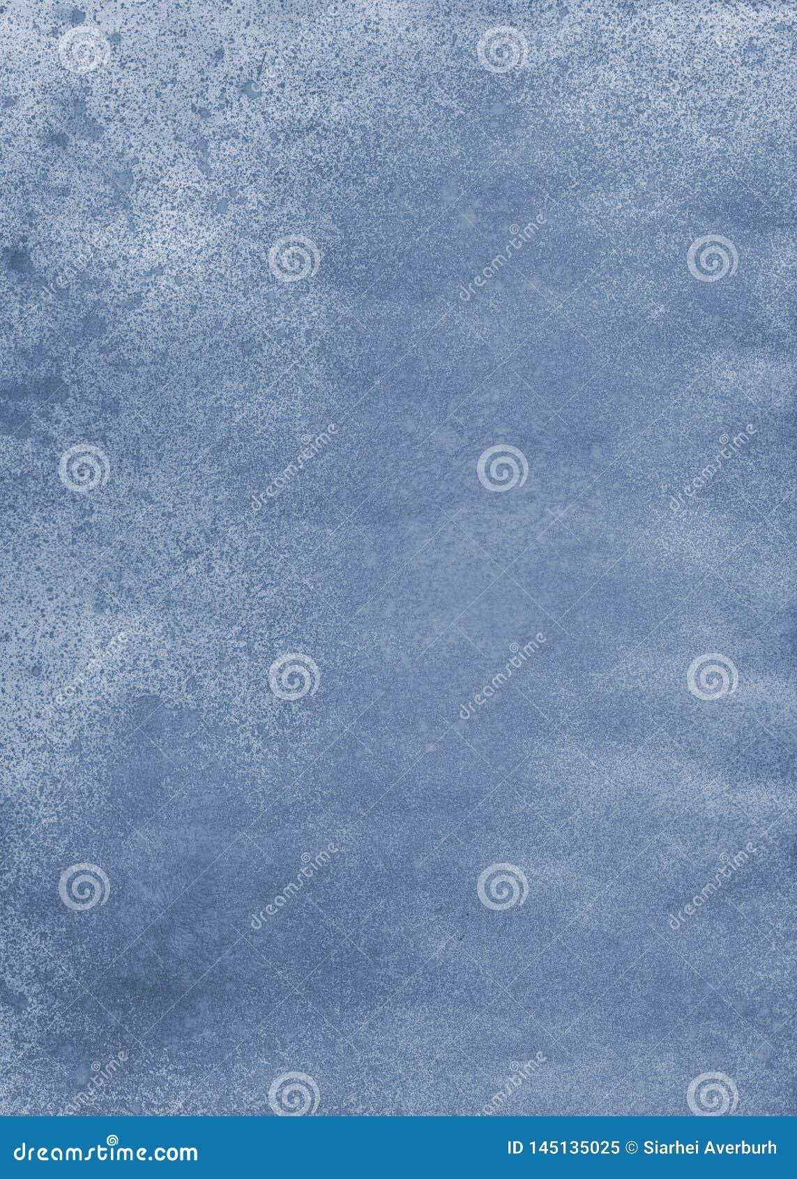 Abstrakt blå cian bakgrund för vattenfärgakrylinc