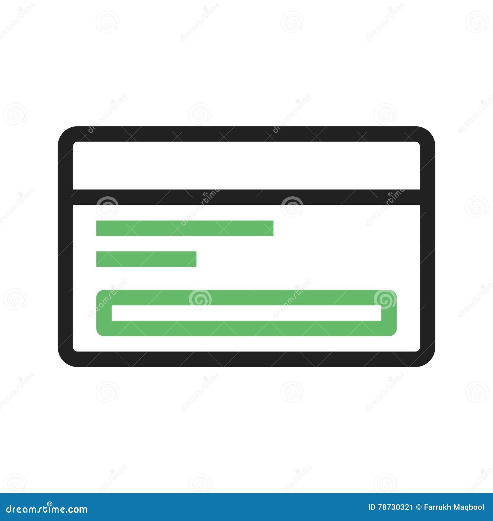 Abstrakt blått kortkrediteringsfoto