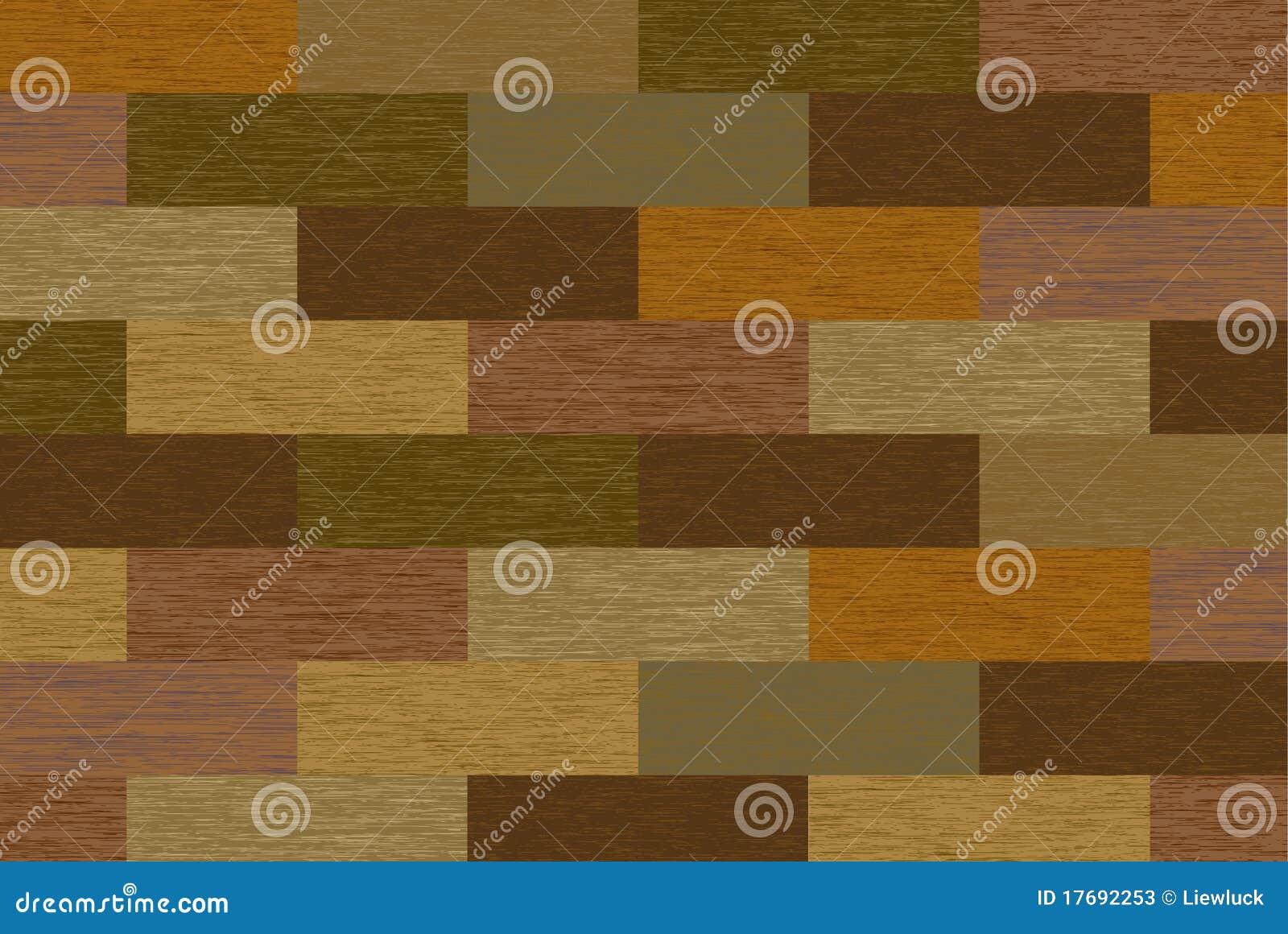 Abstrakt blokuje drewno