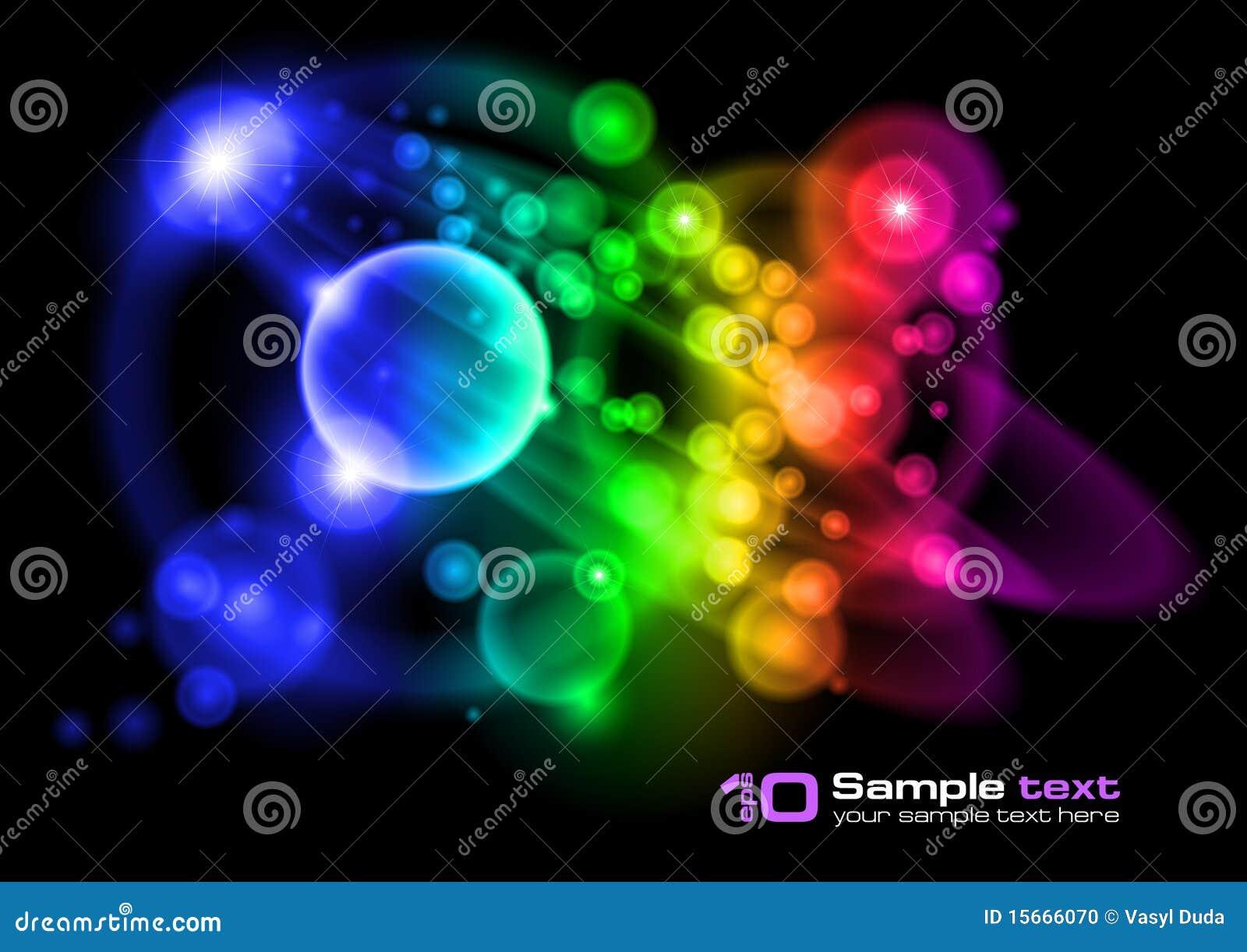 Abstrakt bubblor planlägger vektorn