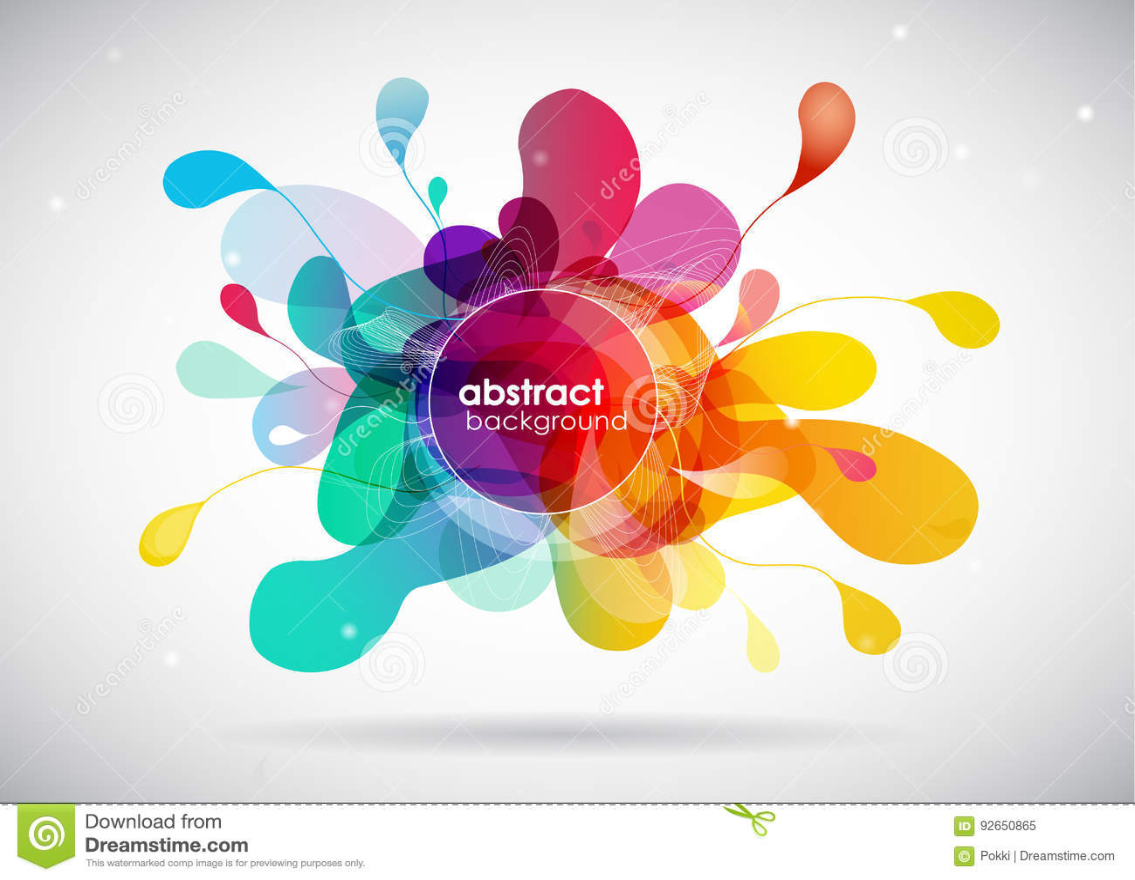 Abstrakt färgfärgstänkbakgrund