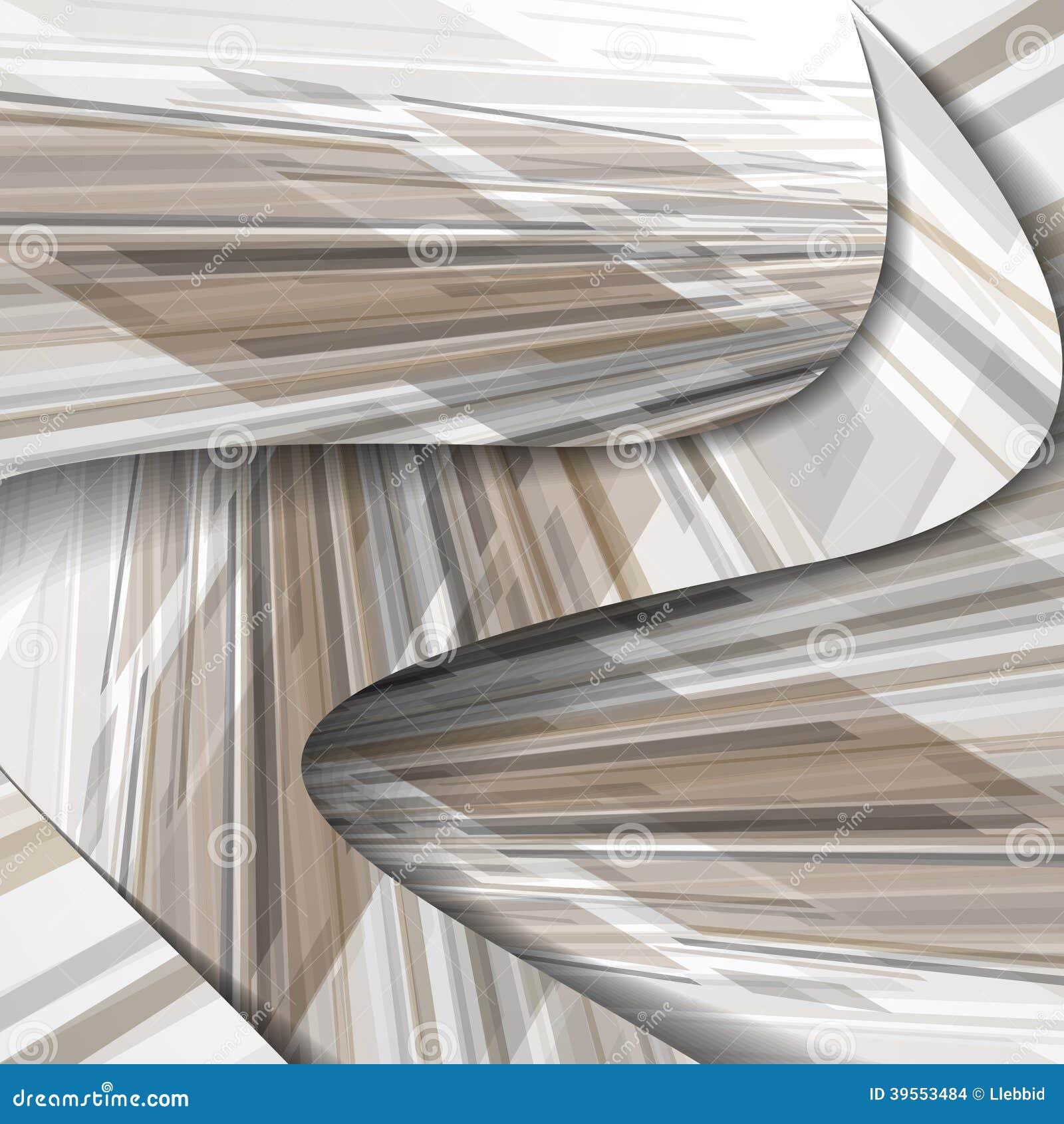 Abstrakt färgrik illustration