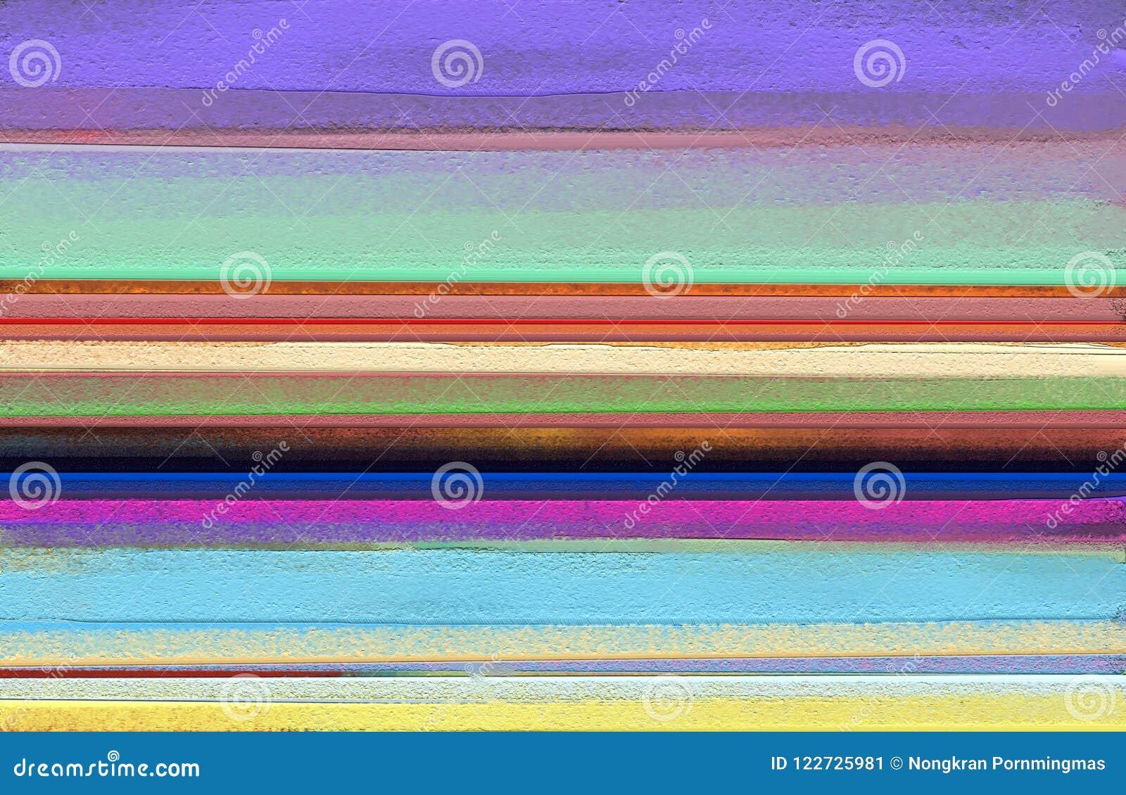 Abstrakt färgrik olje- målning på kanfastextur Abstrakt samtida konst för bakgrund