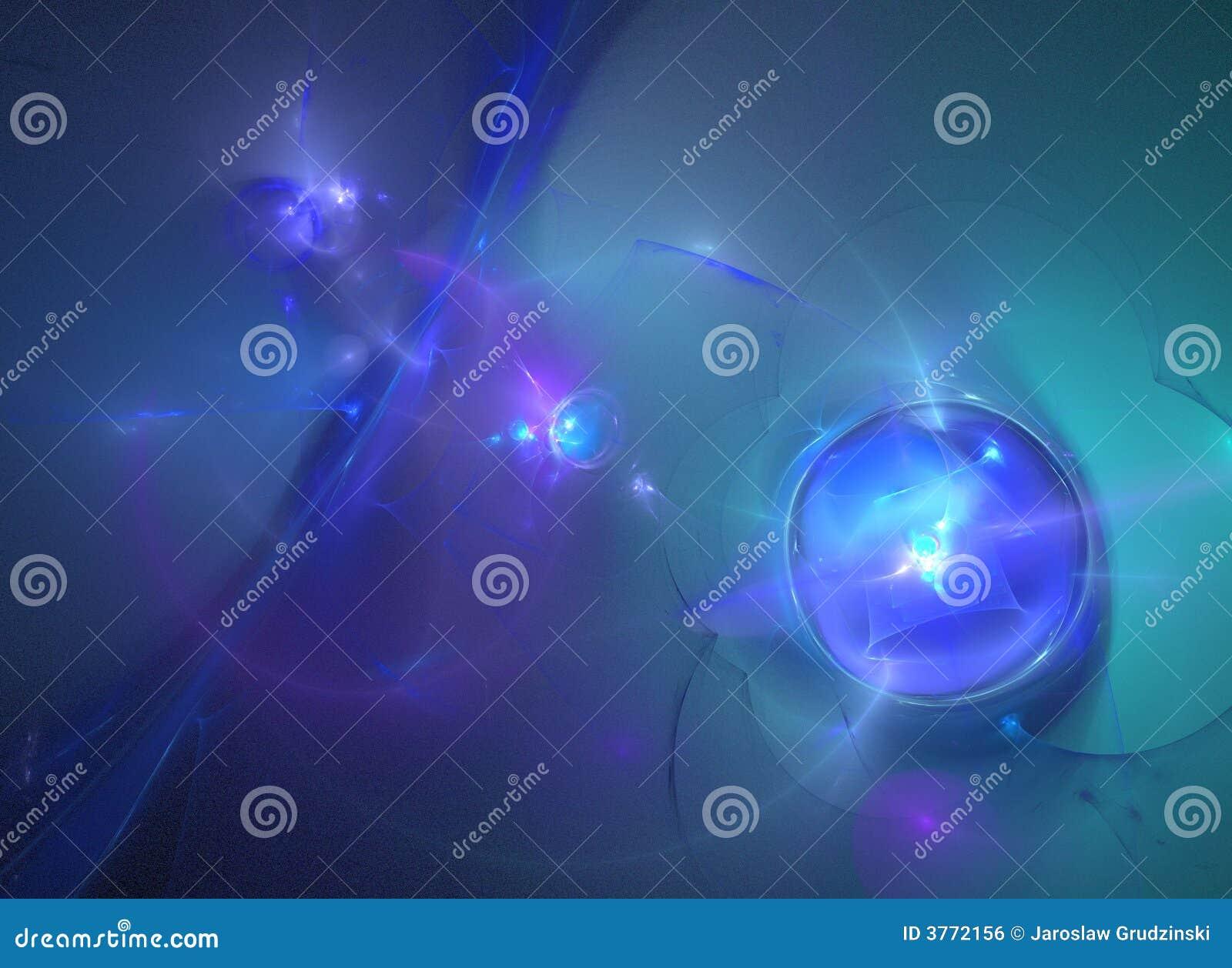 Abstrakt fractalgalax