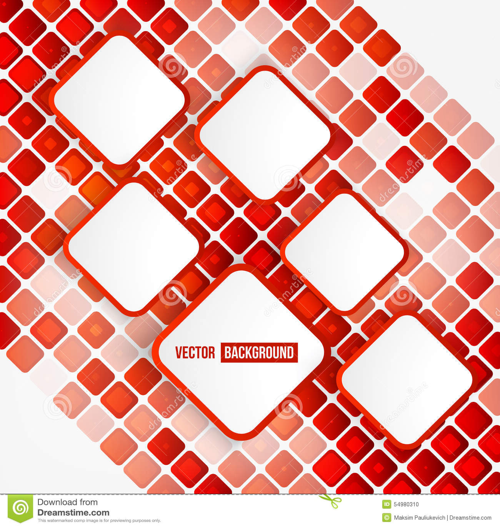 Abstrakt geometrisk form för vektor
