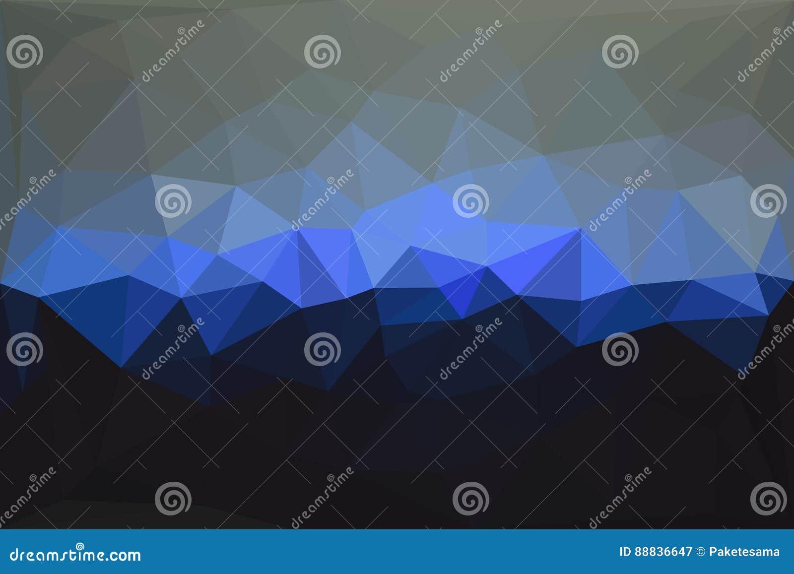 Abstrakt geometrisk polygonal bakgrund