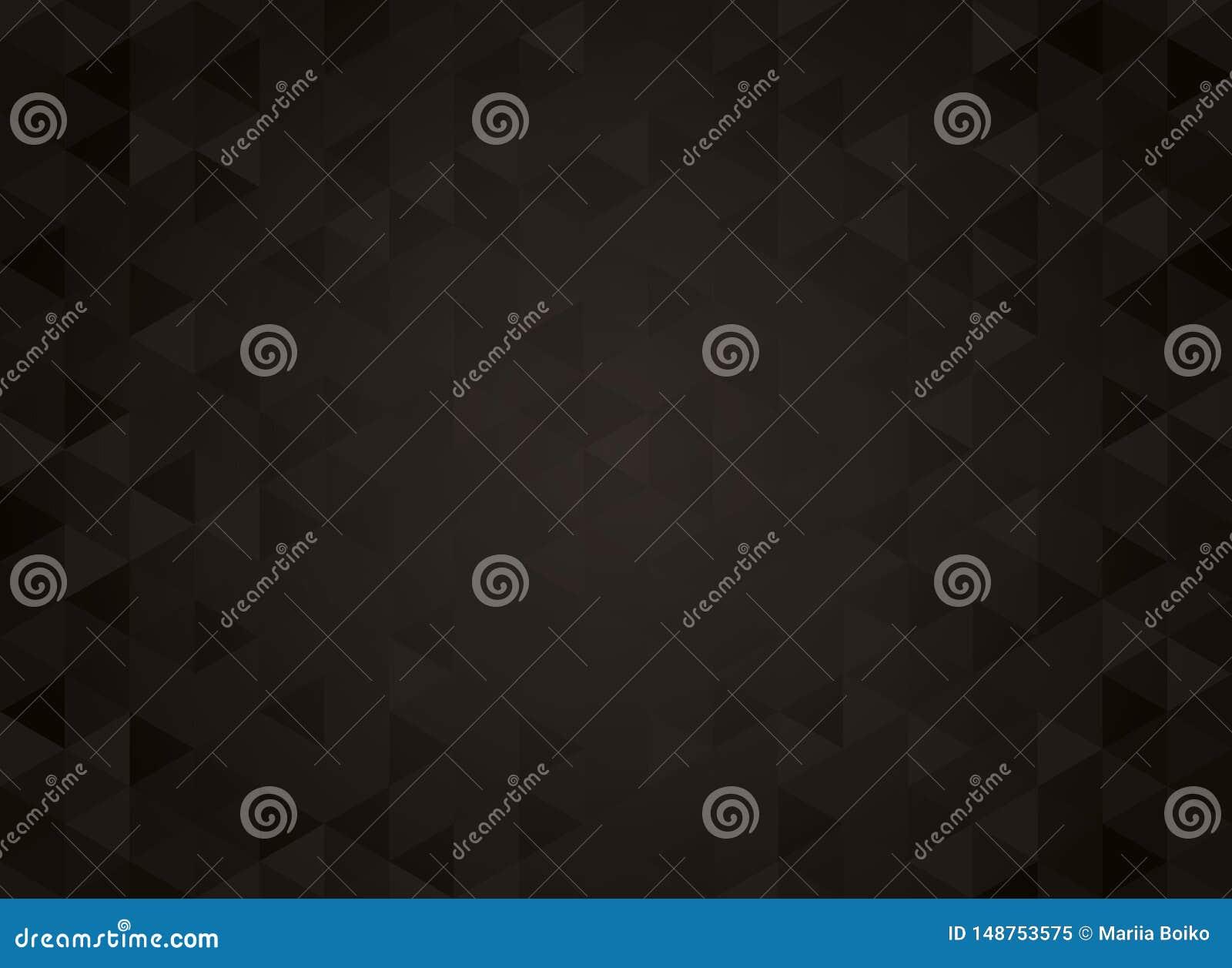 Abstrakt geometrisk svart lutningbakgrund