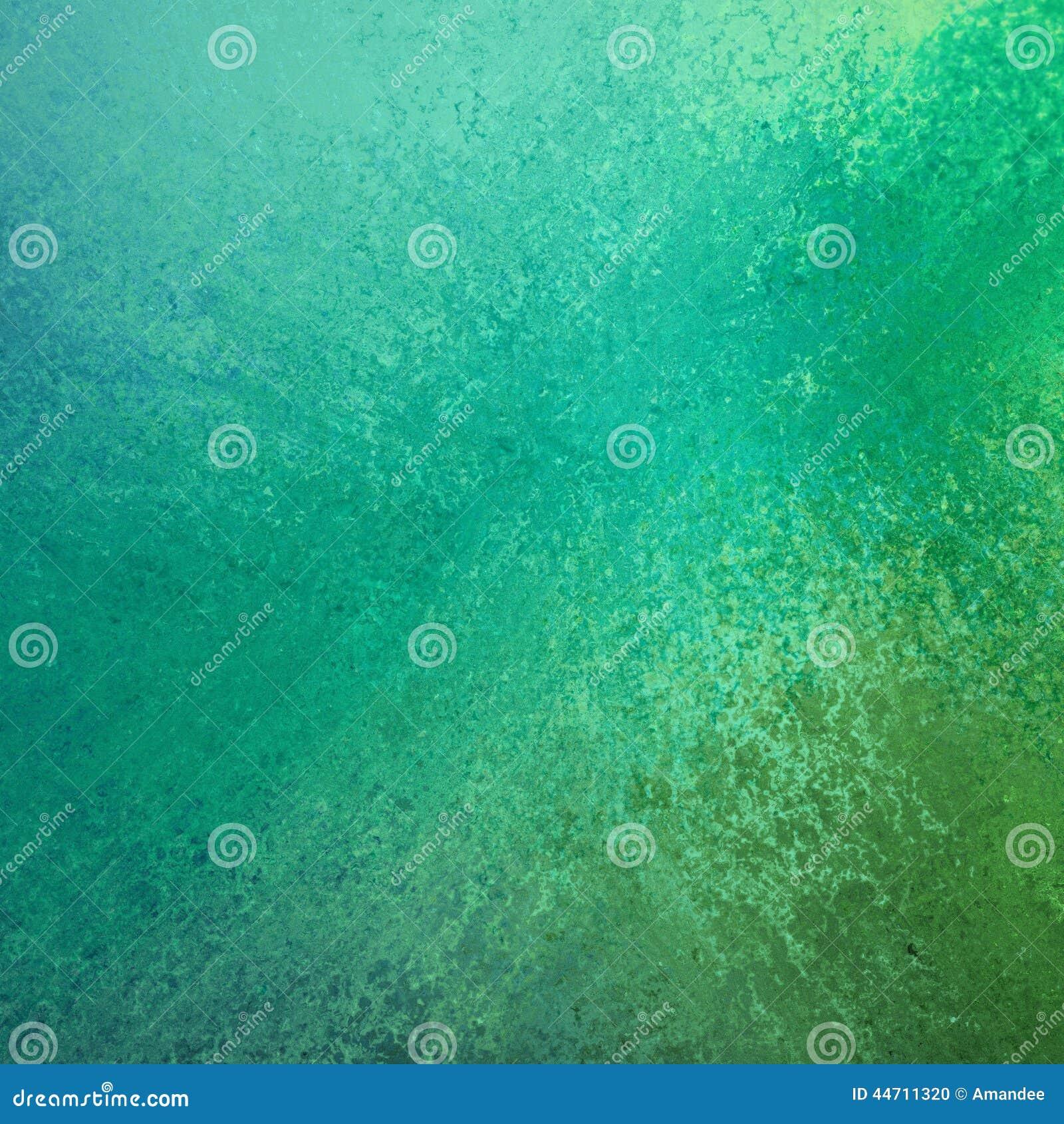 Abstrakt gräsplan och blått färgar färgstänkbakgrundsdesign med grungetextur
