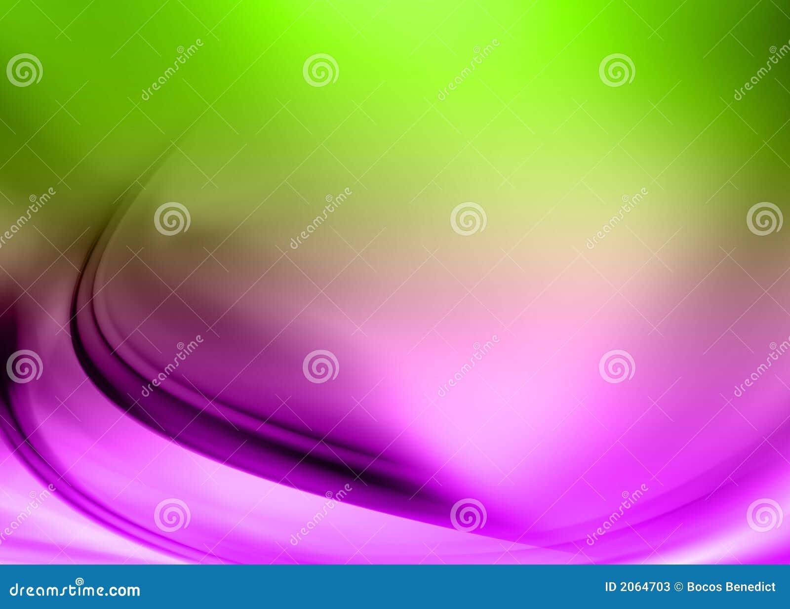 Abstrakt grön purple