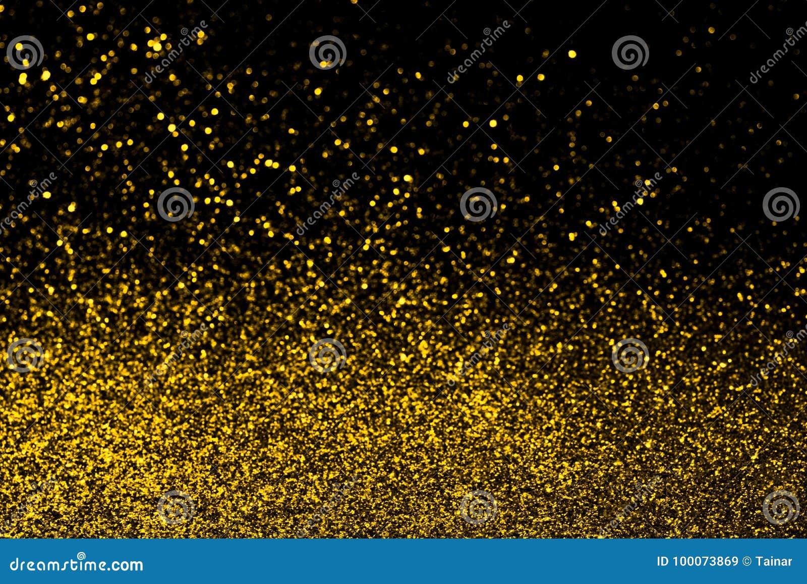Abstrakt guld blänker bakgrund
