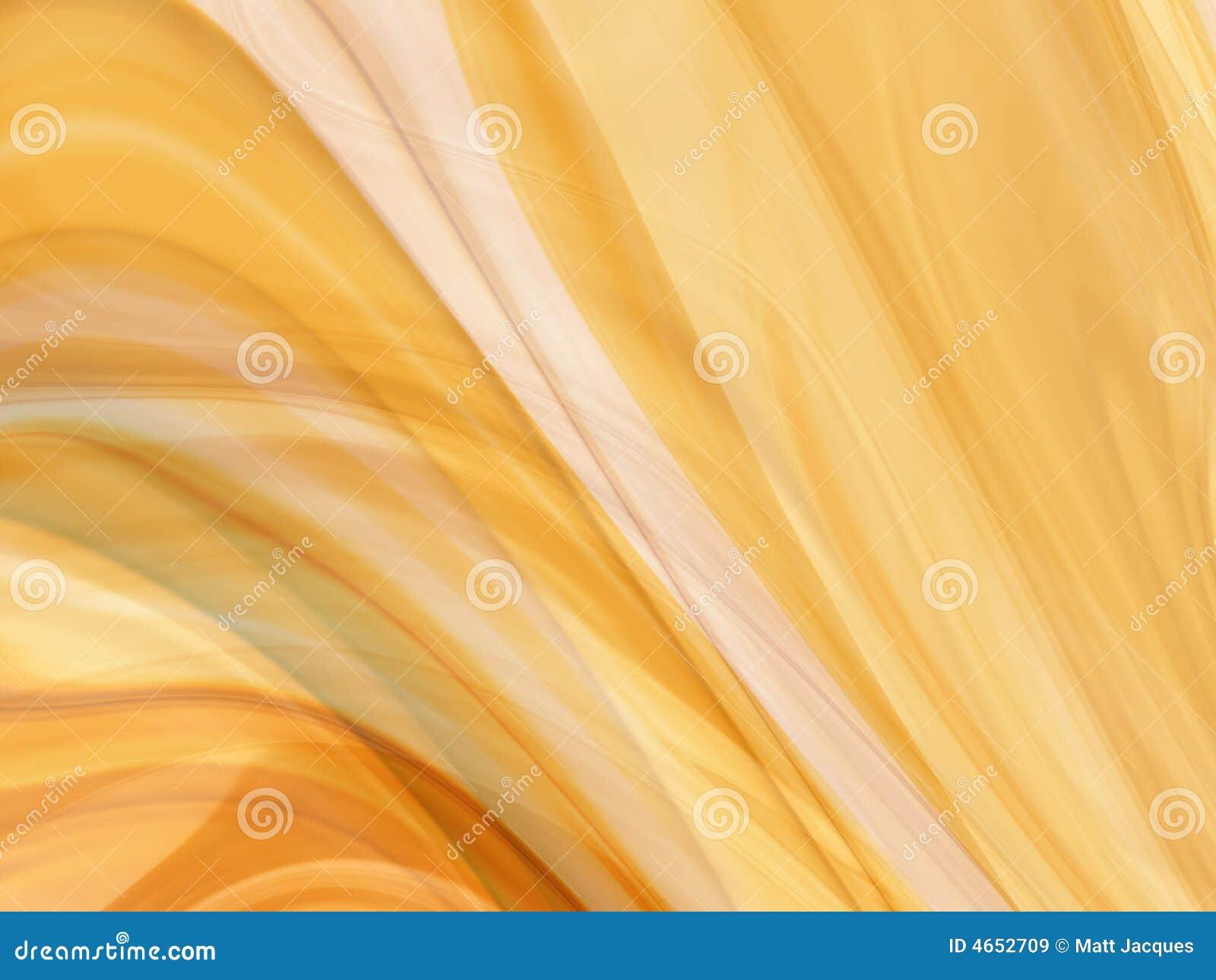 Abstrakt guld- silk rök