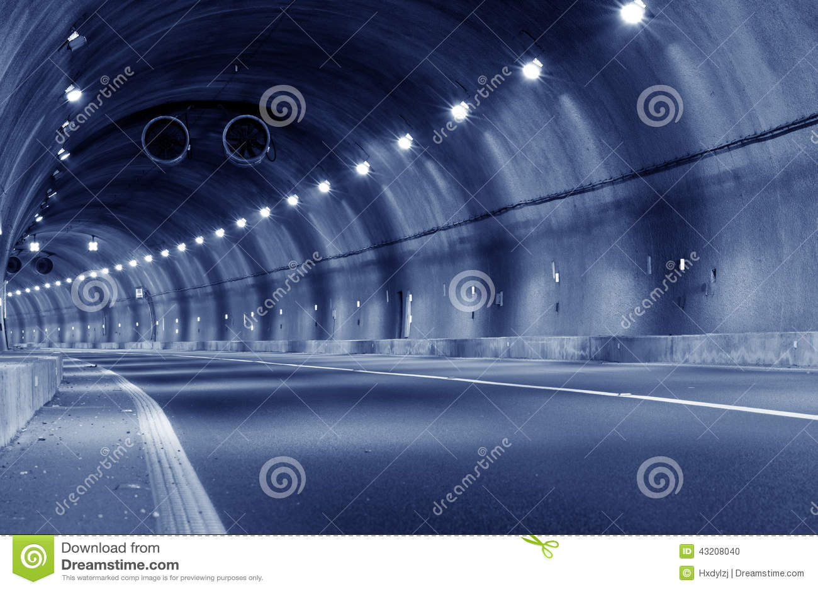 Download Abstrakt Hastighetsrörelse I Stads- Huvudvägvägtunnel Arkivfoto - Bild av lampa, framåt: 43208040