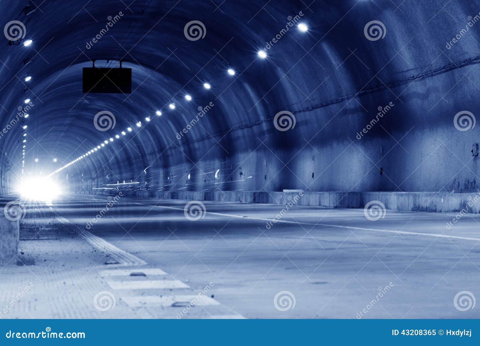 Download Abstrakt Hastighetsrörelse I Stads- Huvudvägvägtunnel Fotografering för Bildbyråer - Bild av actinium, hjälpmedel: 43208365