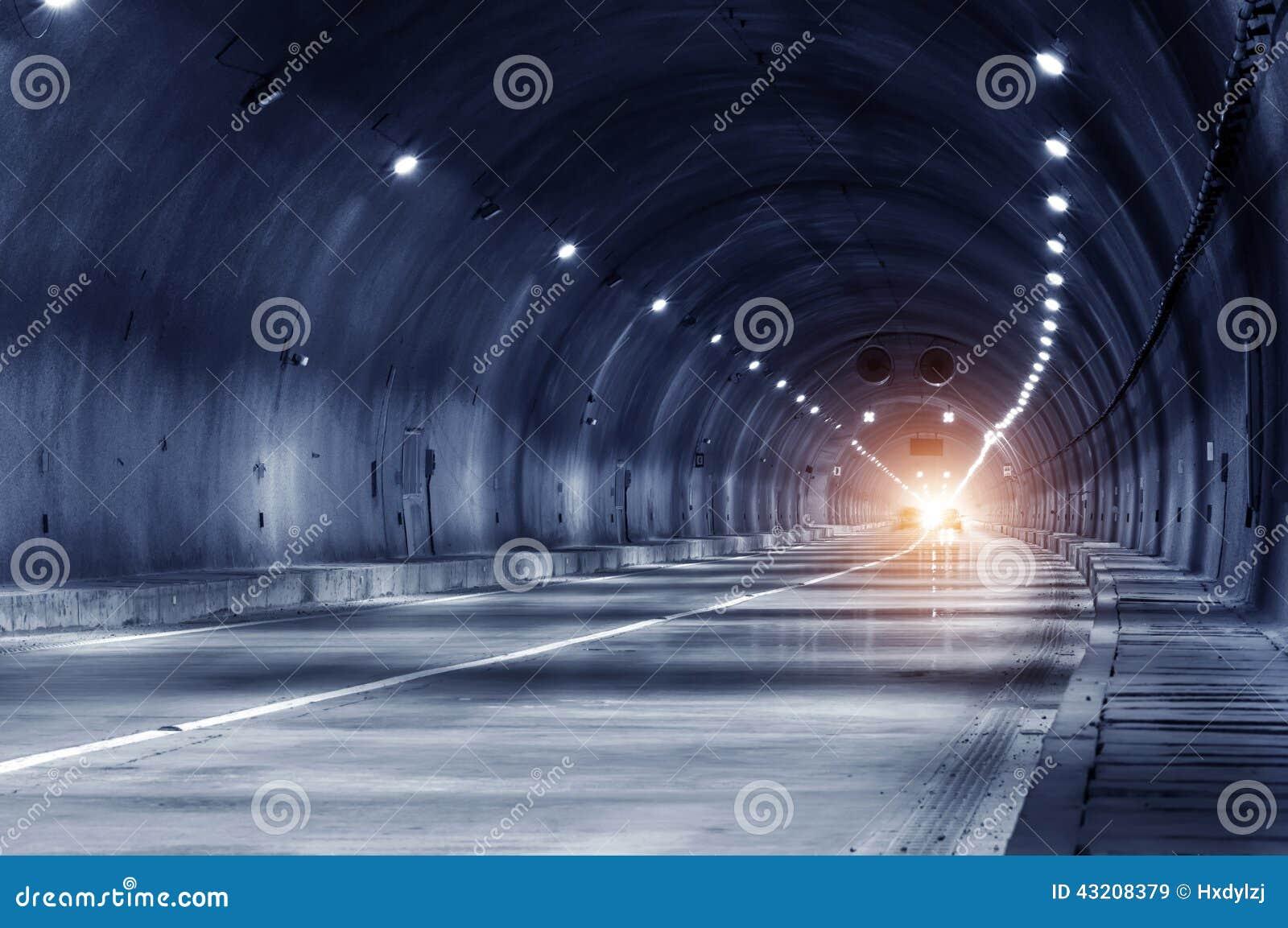 Download Abstrakt Hastighetsrörelse I Stads- Huvudvägvägtunnel Fotografering för Bildbyråer - Bild av modernt, terminal: 43208379