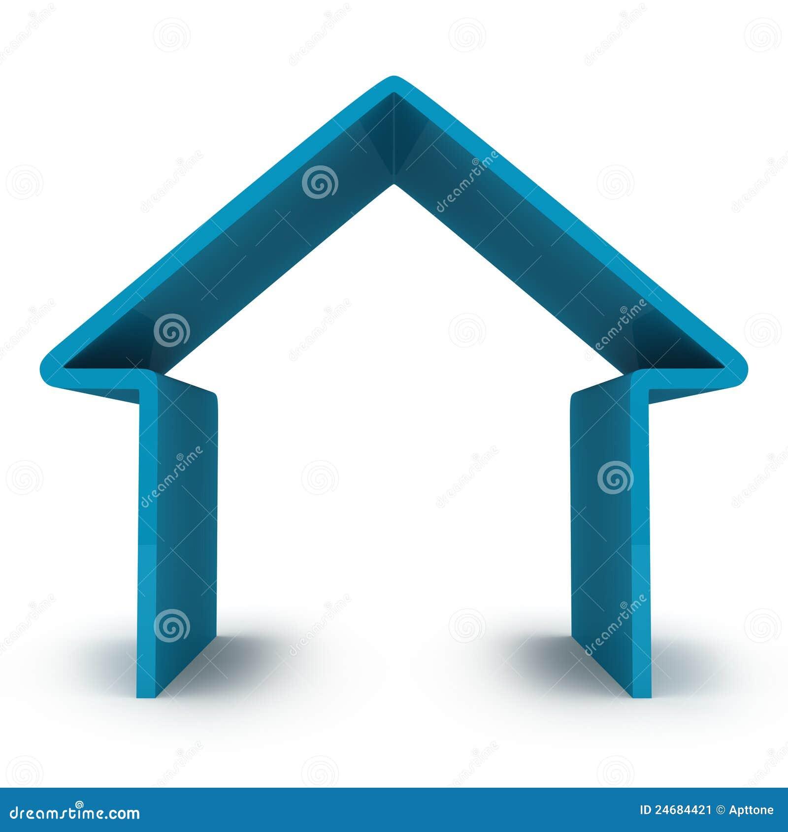 Abstrakt hus