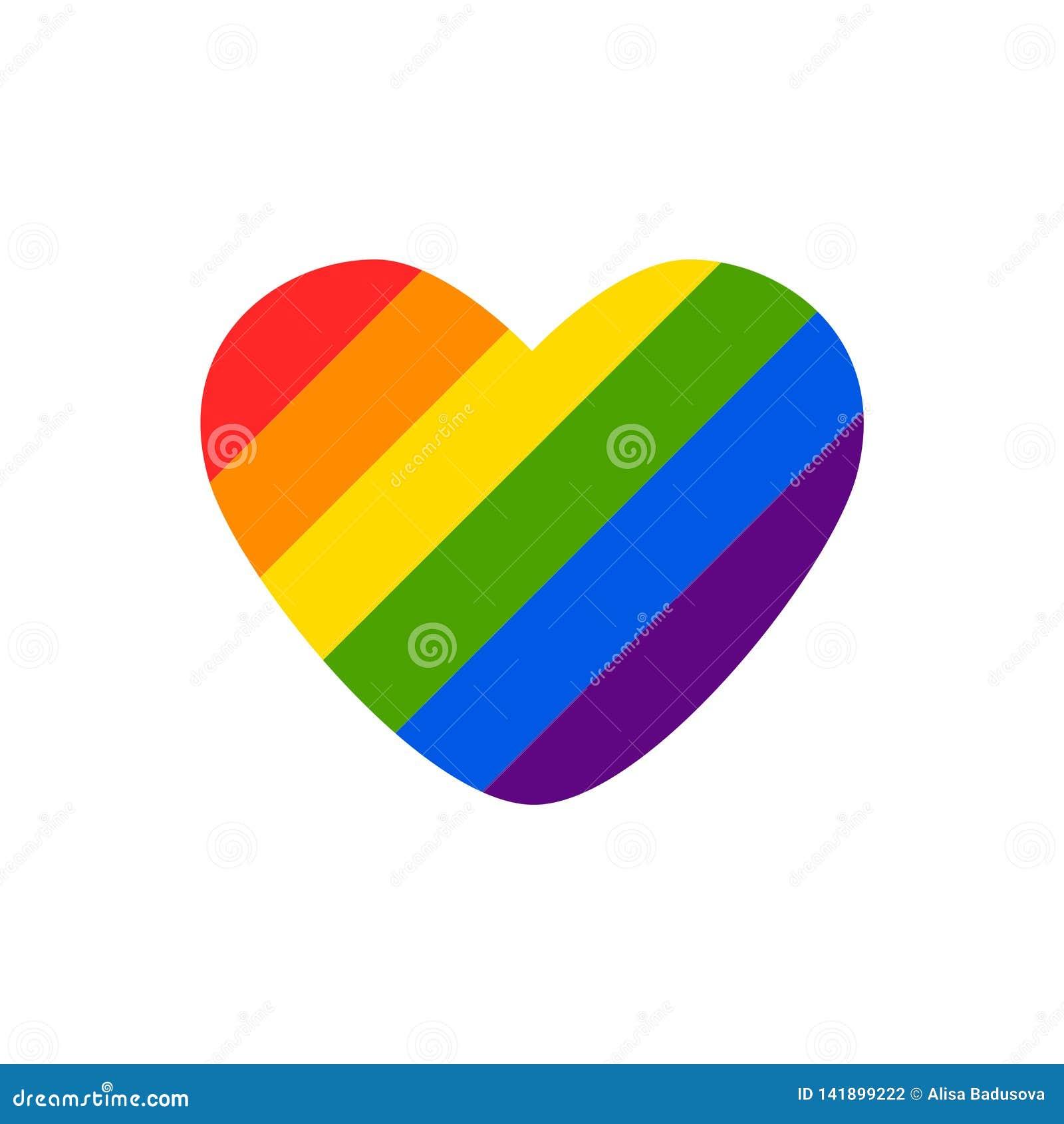 Abstrakt klottermodell för vektor Utdragen hjärtastolthet för hand, förälskelse, fred med regnbågen Glat ståta slogan LGBT-rättsy