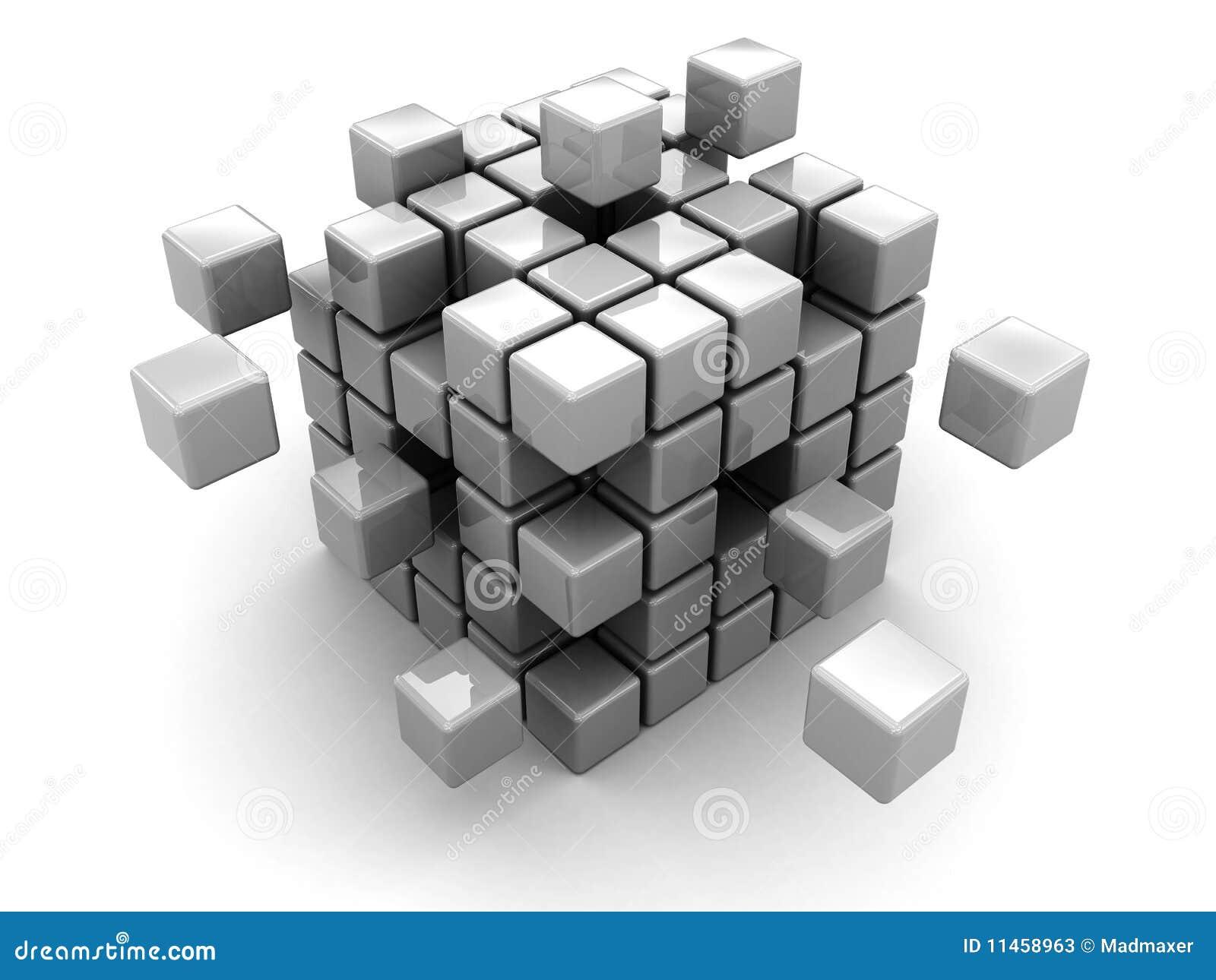 Abstrakt kub