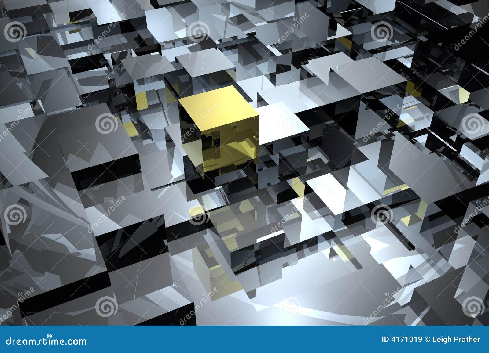 Abstrakt kuber