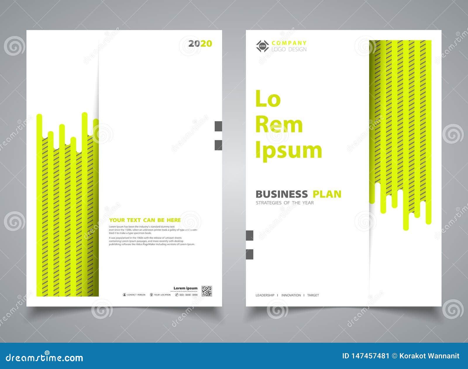 Abstrakt linje designmallgarnering för band för grön färg för broschyr ny Illustrationvektor eps10