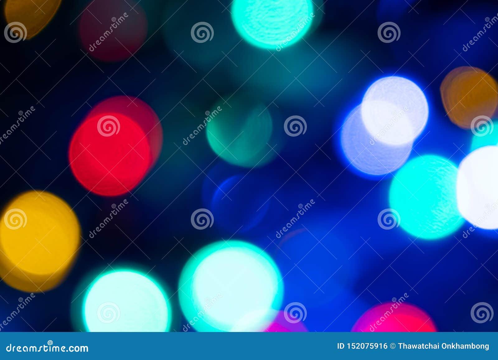 Abstrakt ljus Bokeh härlig bakgrund