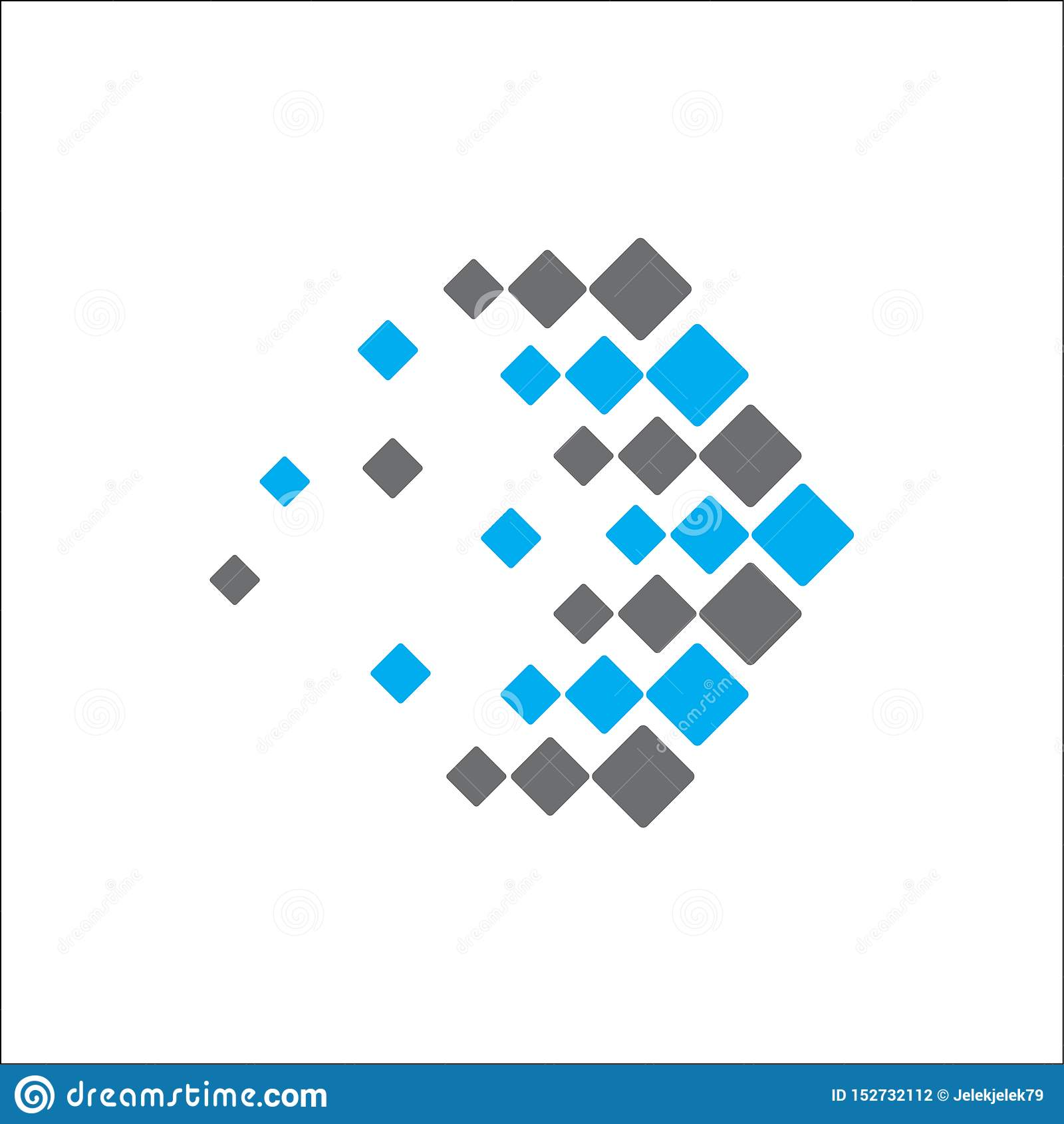 Abstrakt logoteknologipil
