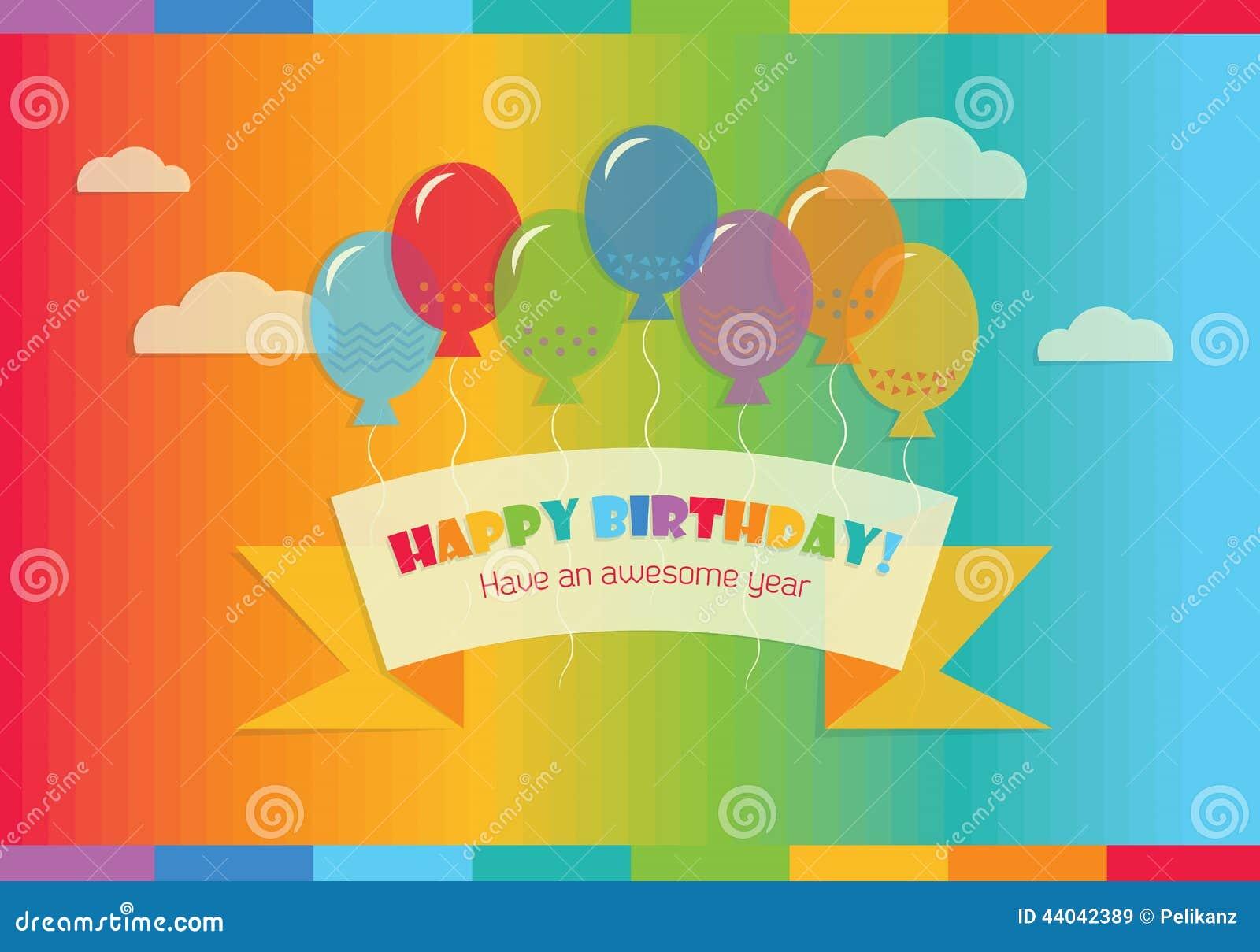 födelsedag meddelande Abstrakt Lycklig Födelsedag! Meddelande I Himlen Stock  födelsedag meddelande