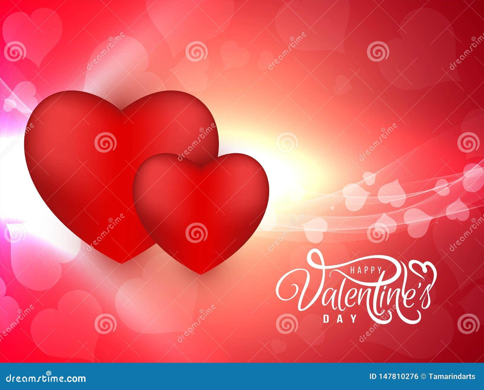 Abstrakt lycklig valentin h?rlig bakgrund f?r dag