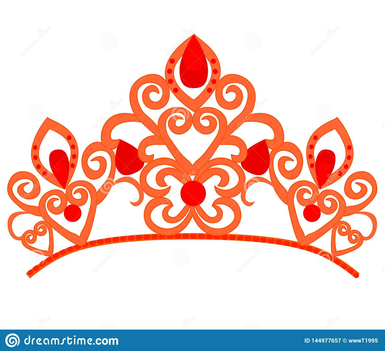 Abstrakt lyx, kunglig guld- design f?r vektor f?r f?retagslogosymbol Elegant krona, tiara, h?gv?rdigt symbol f?r diadem