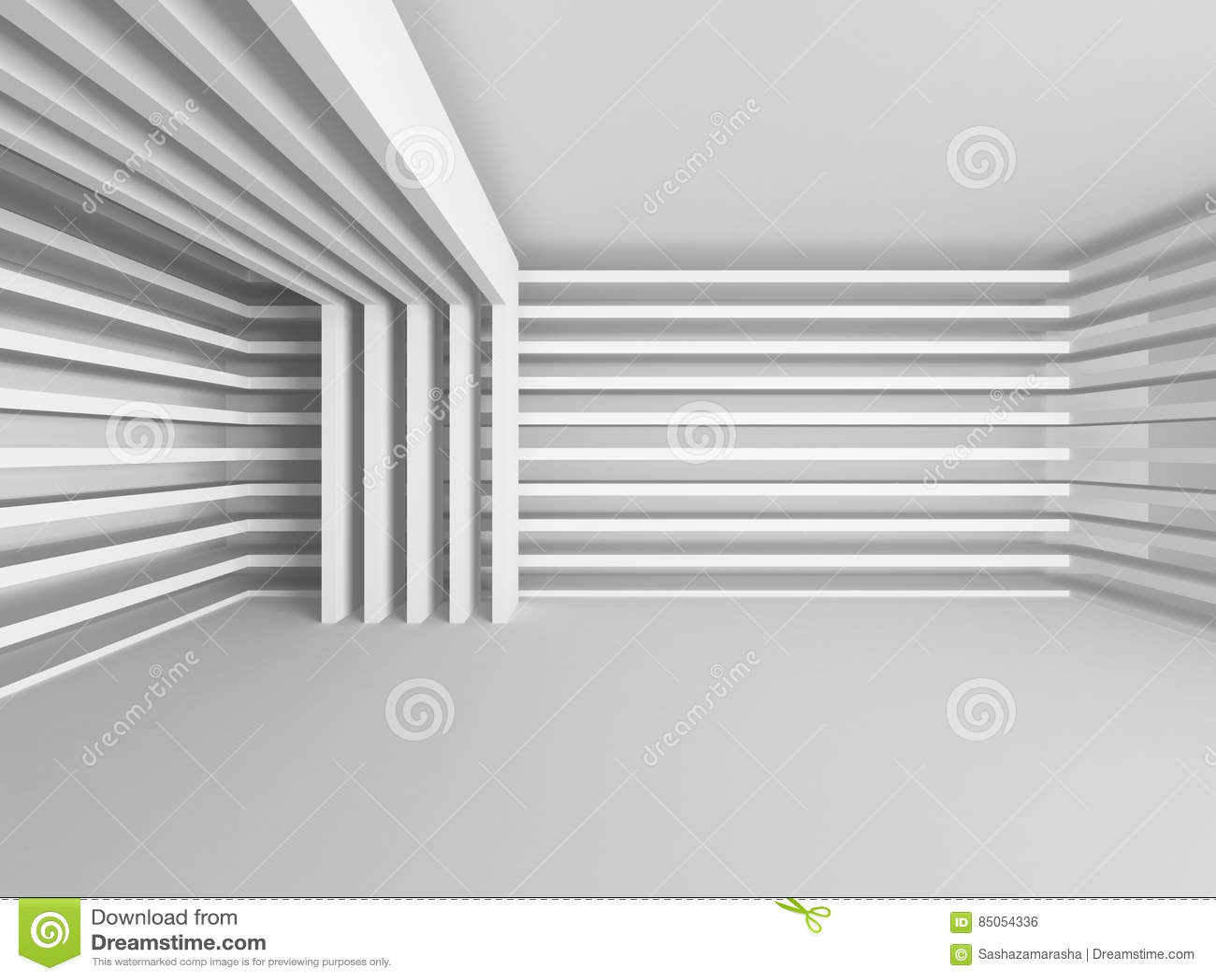 Abstrakt modern vit arkitekturbakgrund