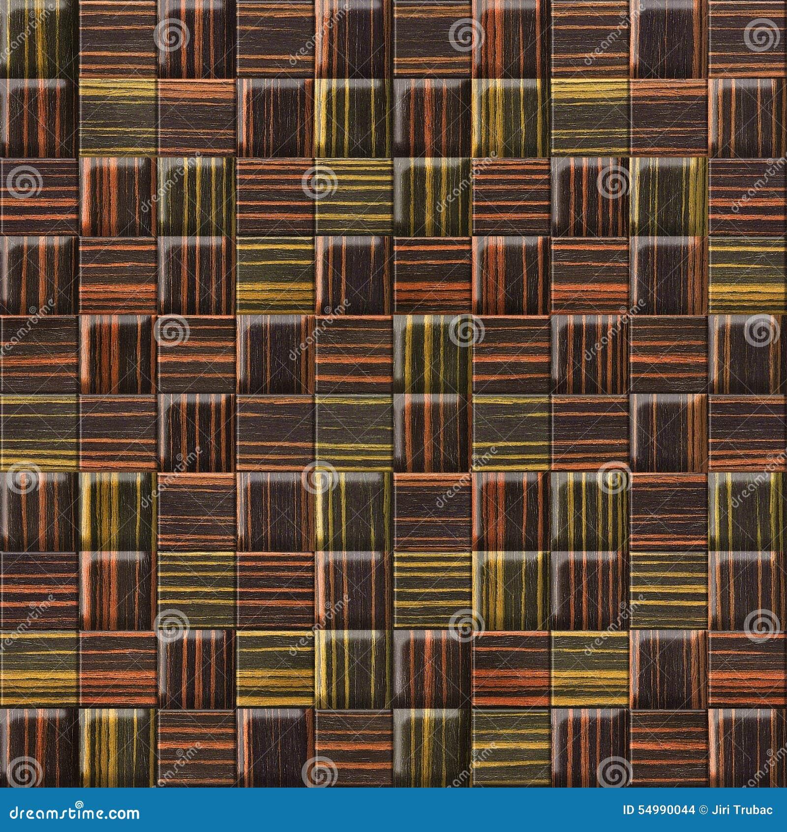 Abstrakt panelmodell - sömlös bakgrund - ebenholtssvart trä