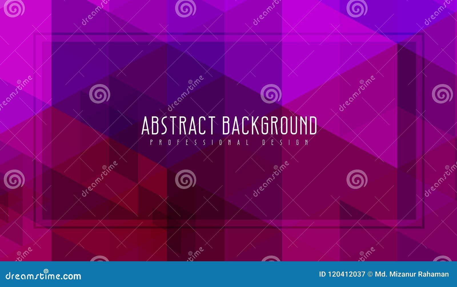 Abstrakt purpurfärgad geometrisk bakgrund Fantastisk vektorillustration Det ska användas för broschyren, reklamblad, affischen et