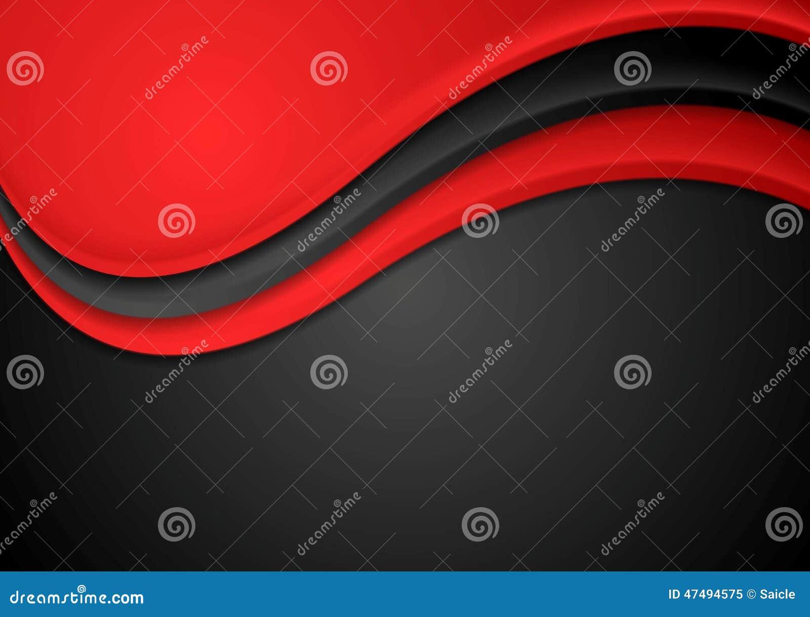 Abstrakt röd och svart krabb bakgrund